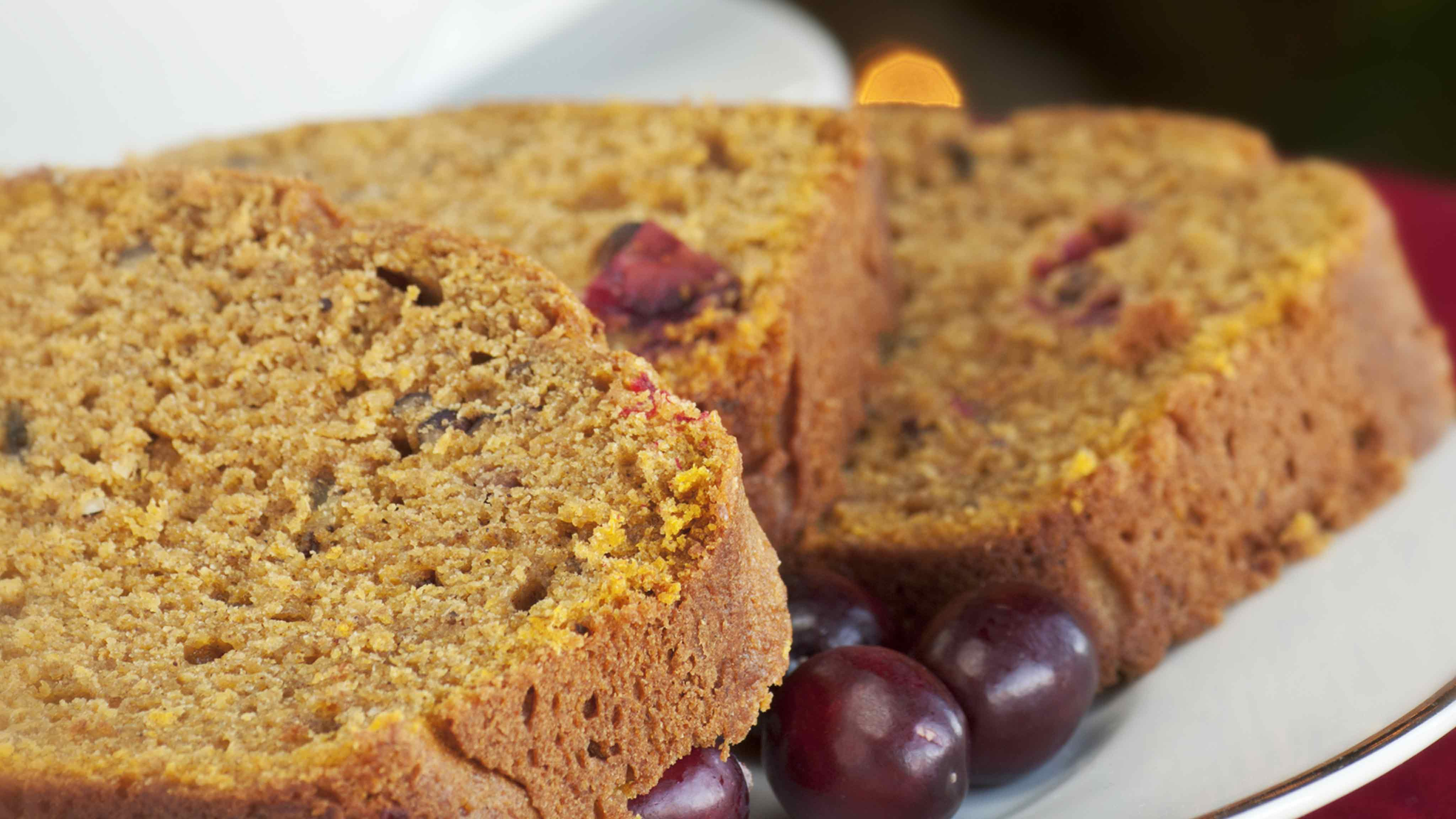 Image for Recipe Pumpkin Cranberry Bread