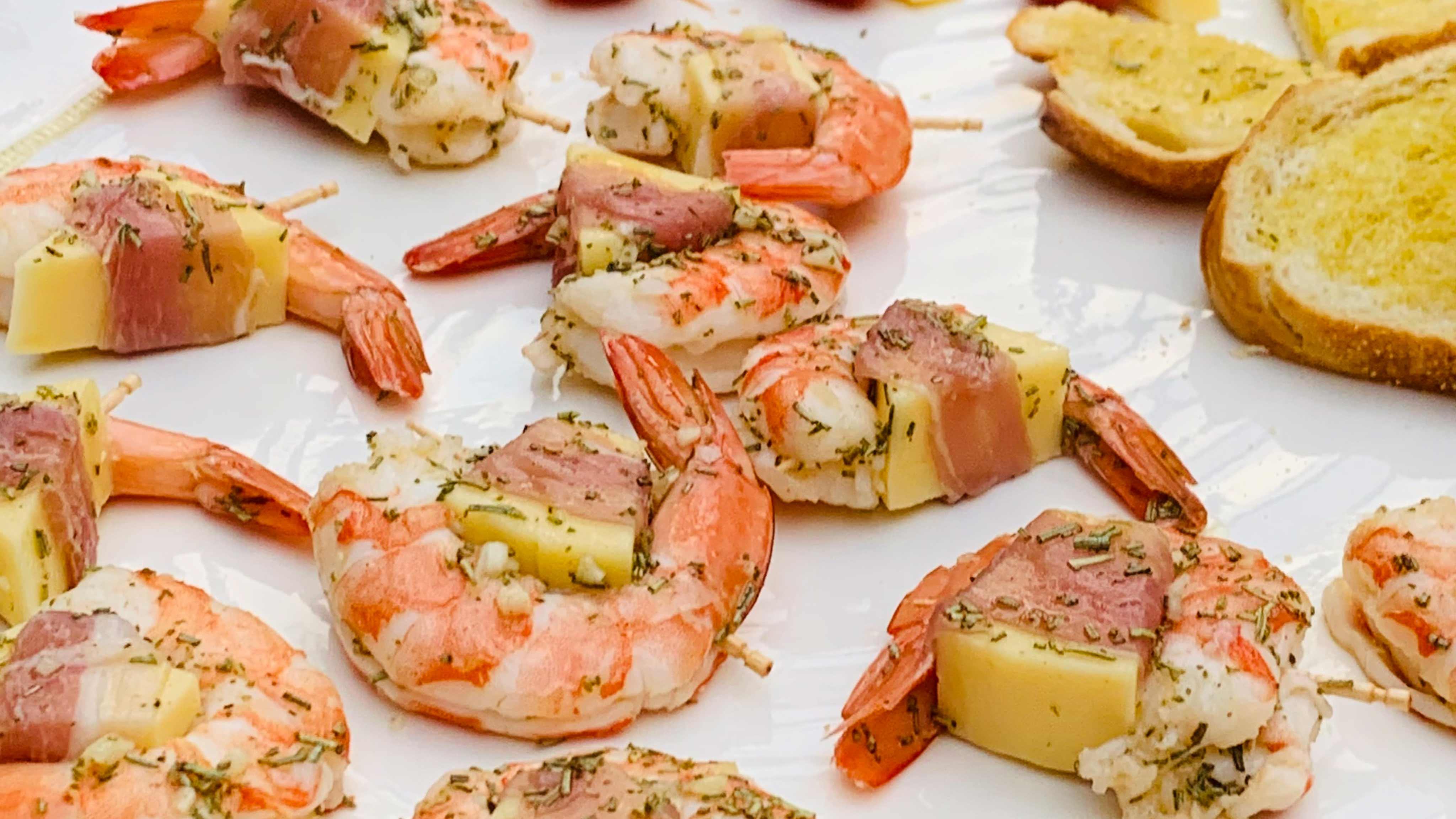 Image for Recipe Gouda Stuffed Shrimp