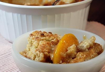 Leppinks Food Centers Print Recipe Peach Cobbler