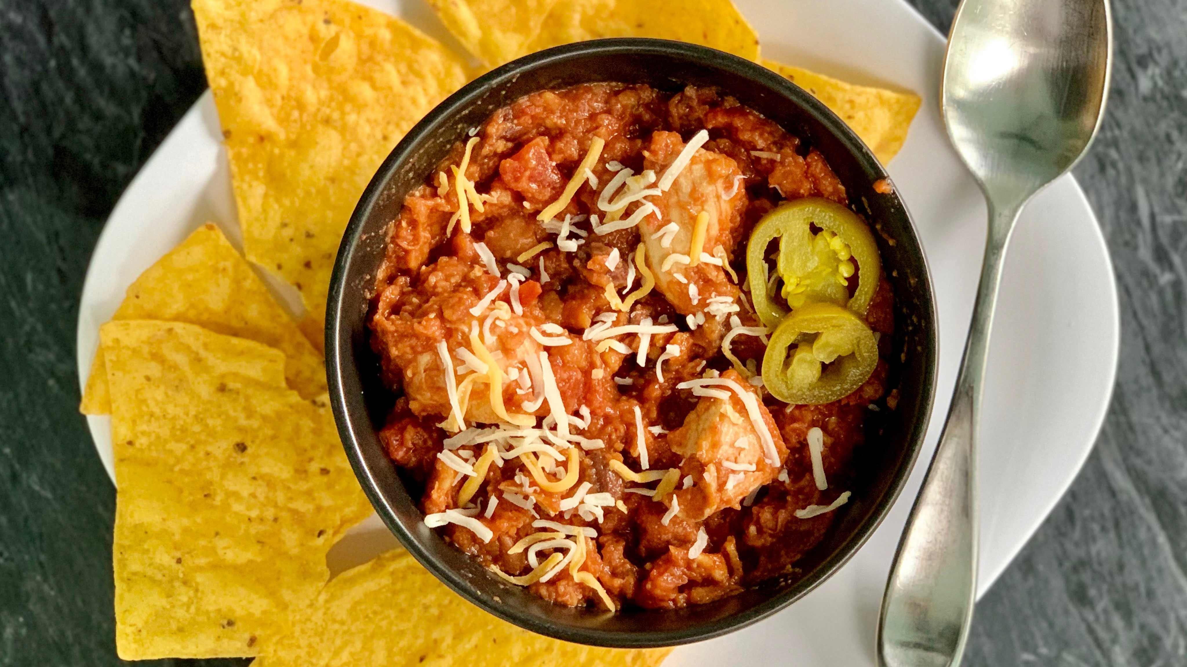 Image for Recipe Skillet Chicken Chili