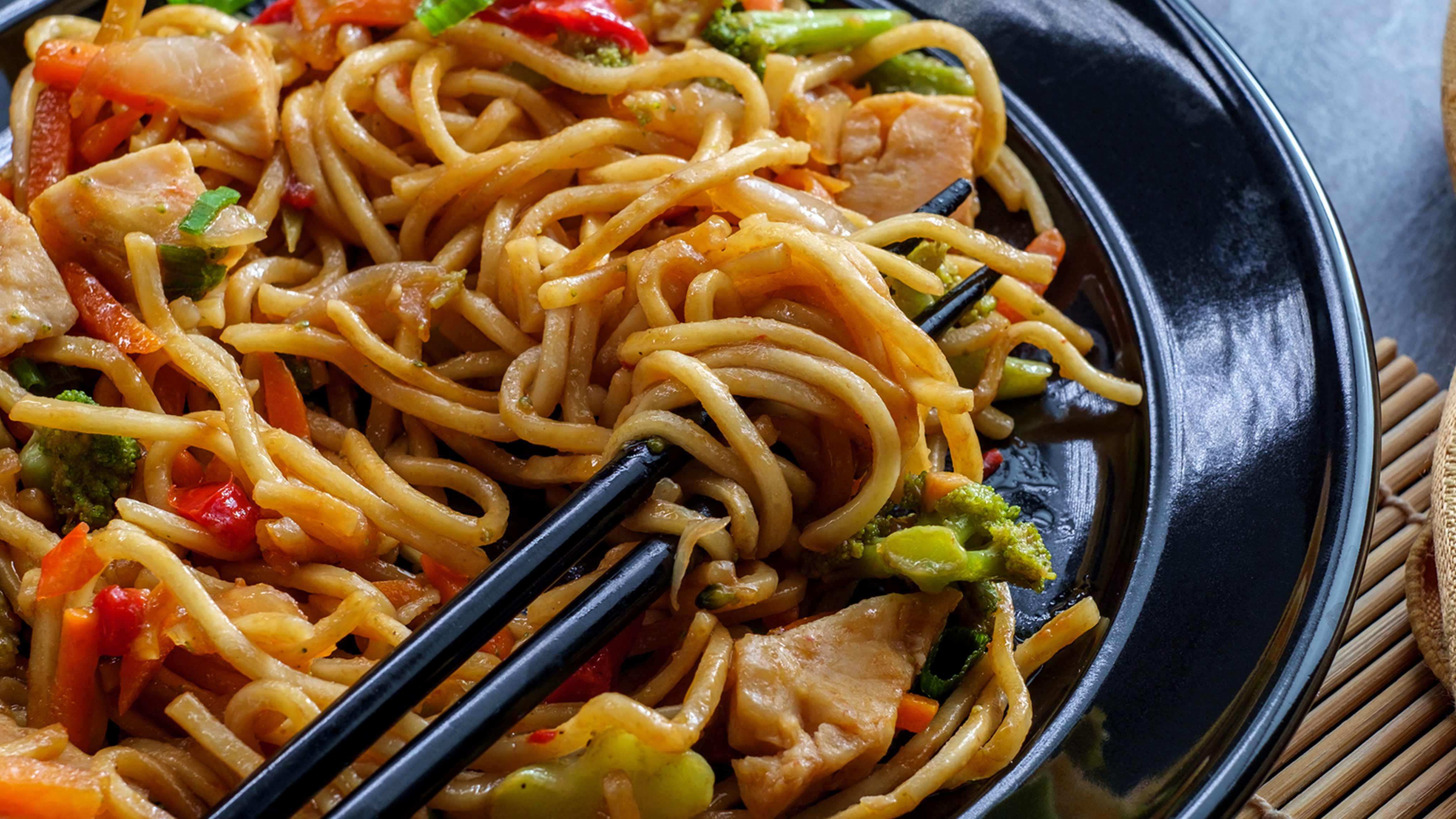 Image for Recipe Cashew Chicken Chow Mein Casserole