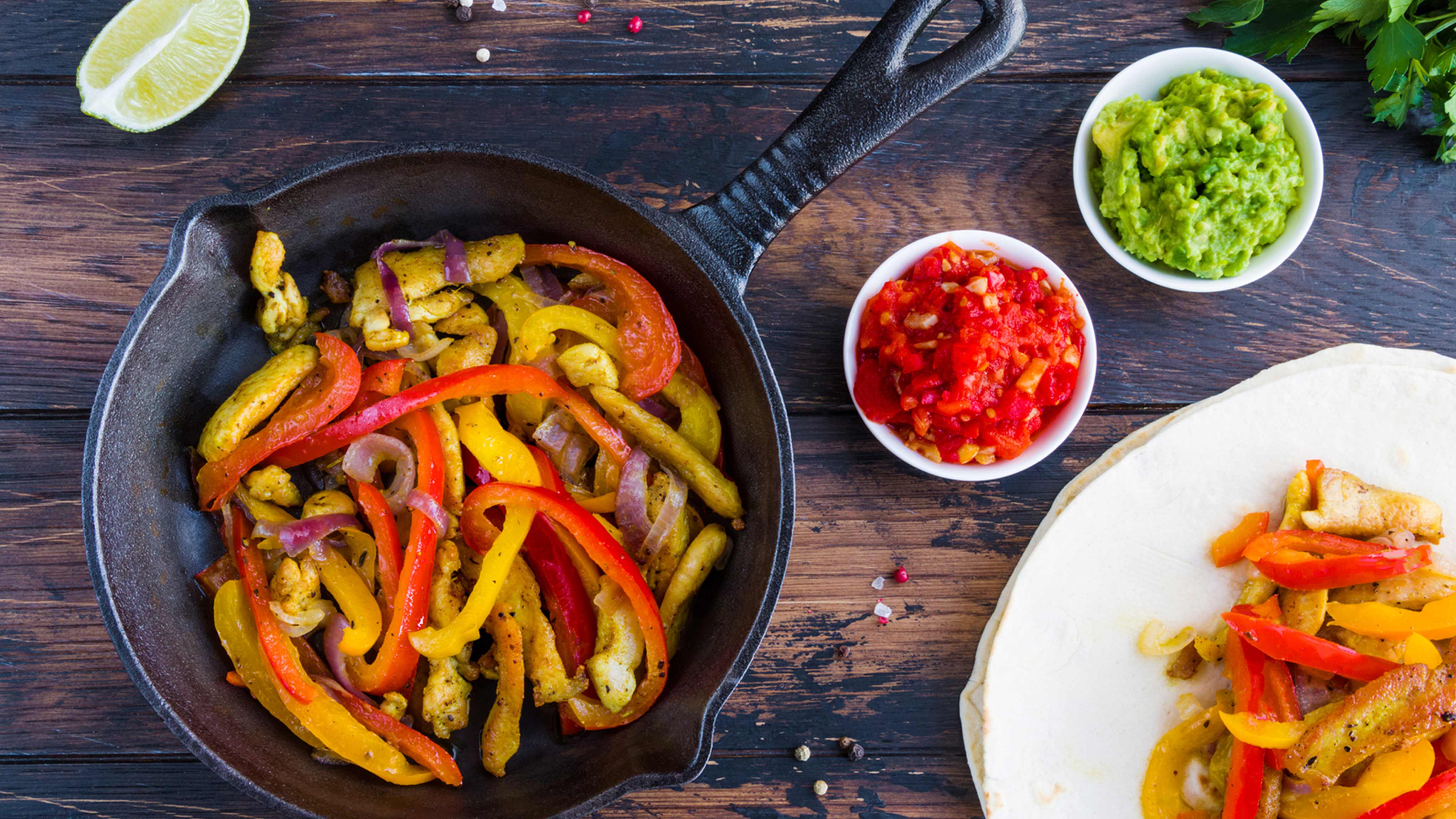 Image for Recipe Chicken Fajitas
