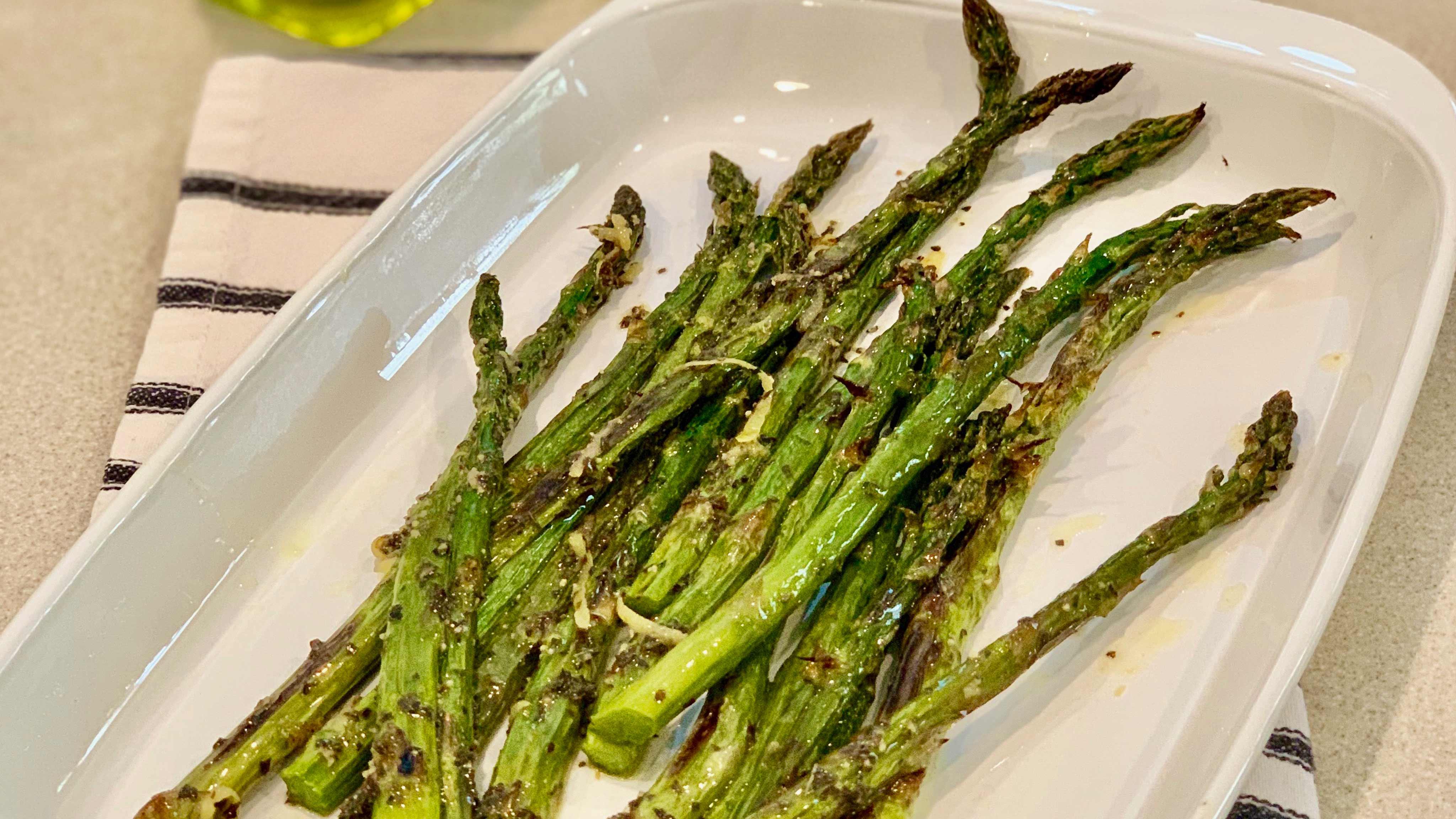 Image for Recipe Lemon Mint Asparagus For Two