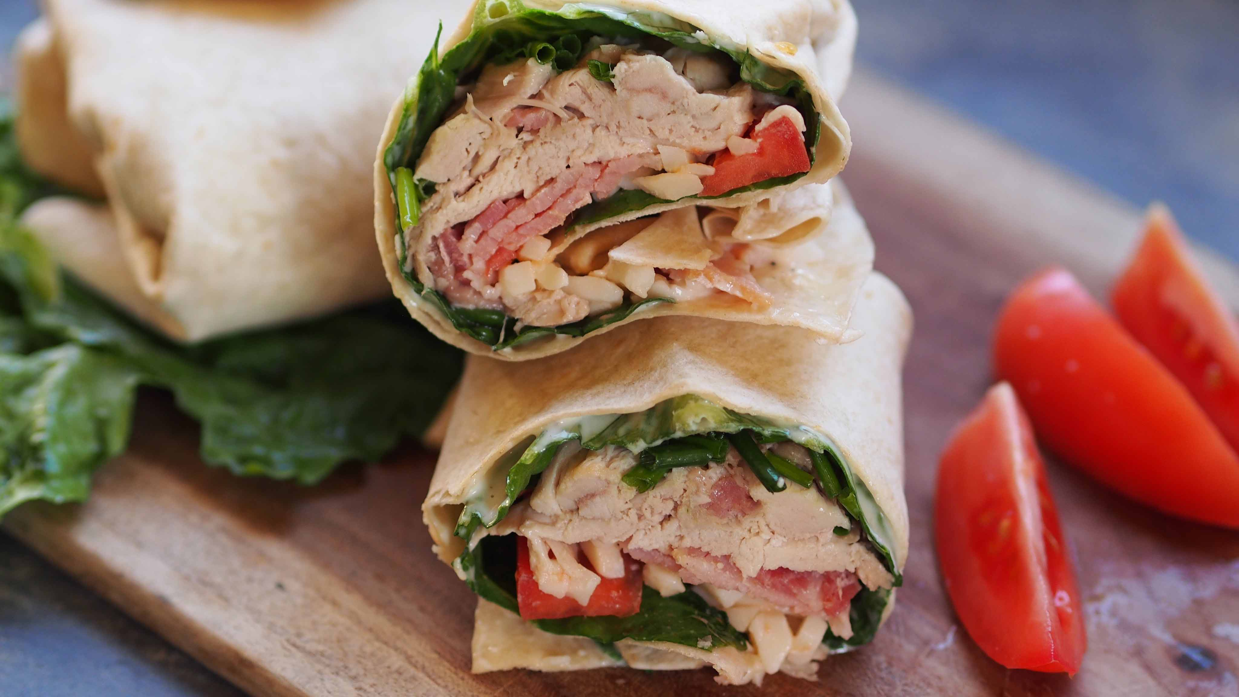 Image for Recipe Cobb Salad Wrap