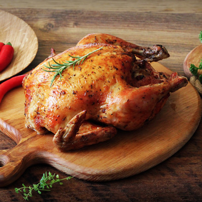 Butter and Herb Roasted Chicken
