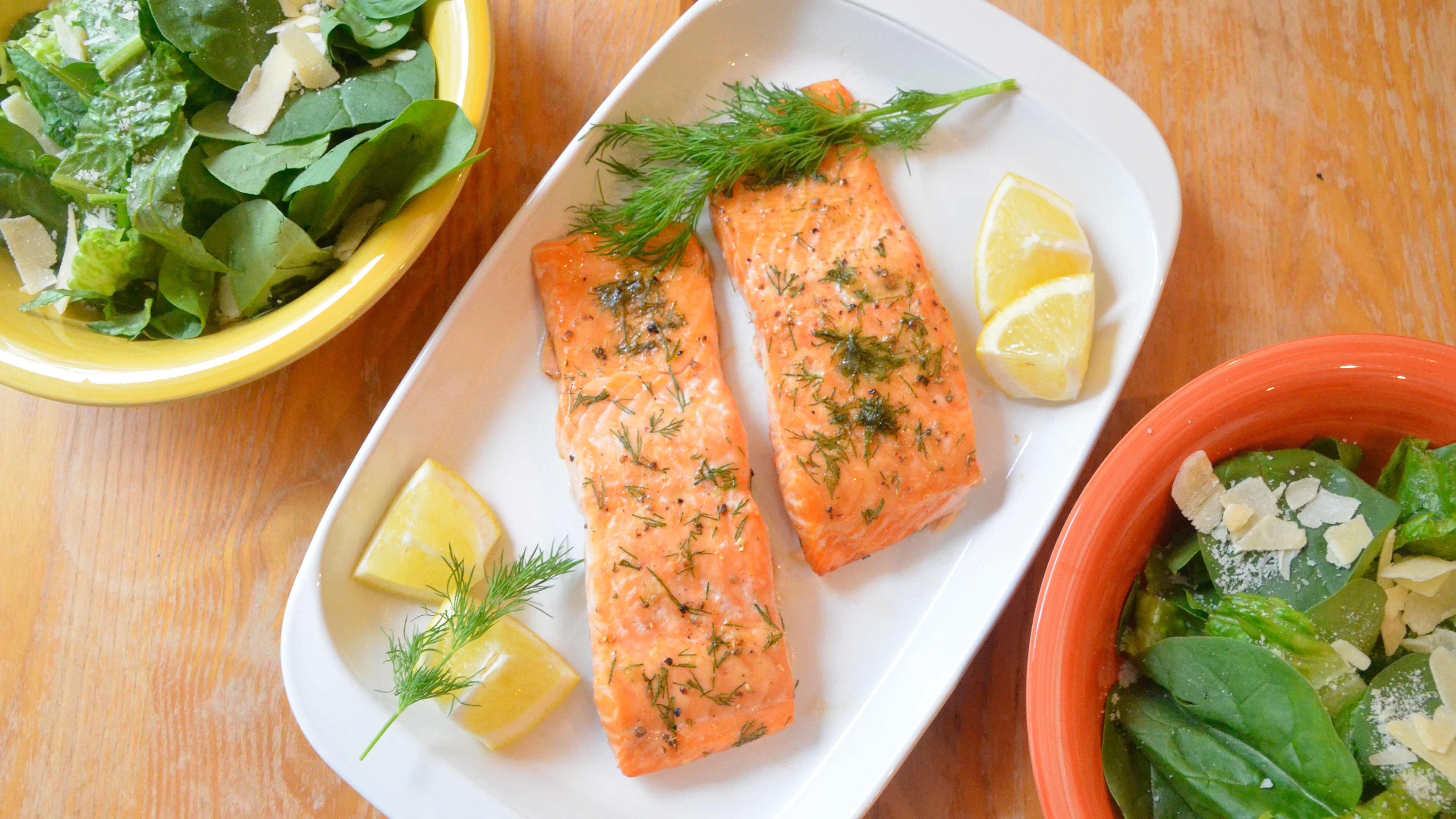 Image for Recipe Maple Whiskey Glazed Salmon
