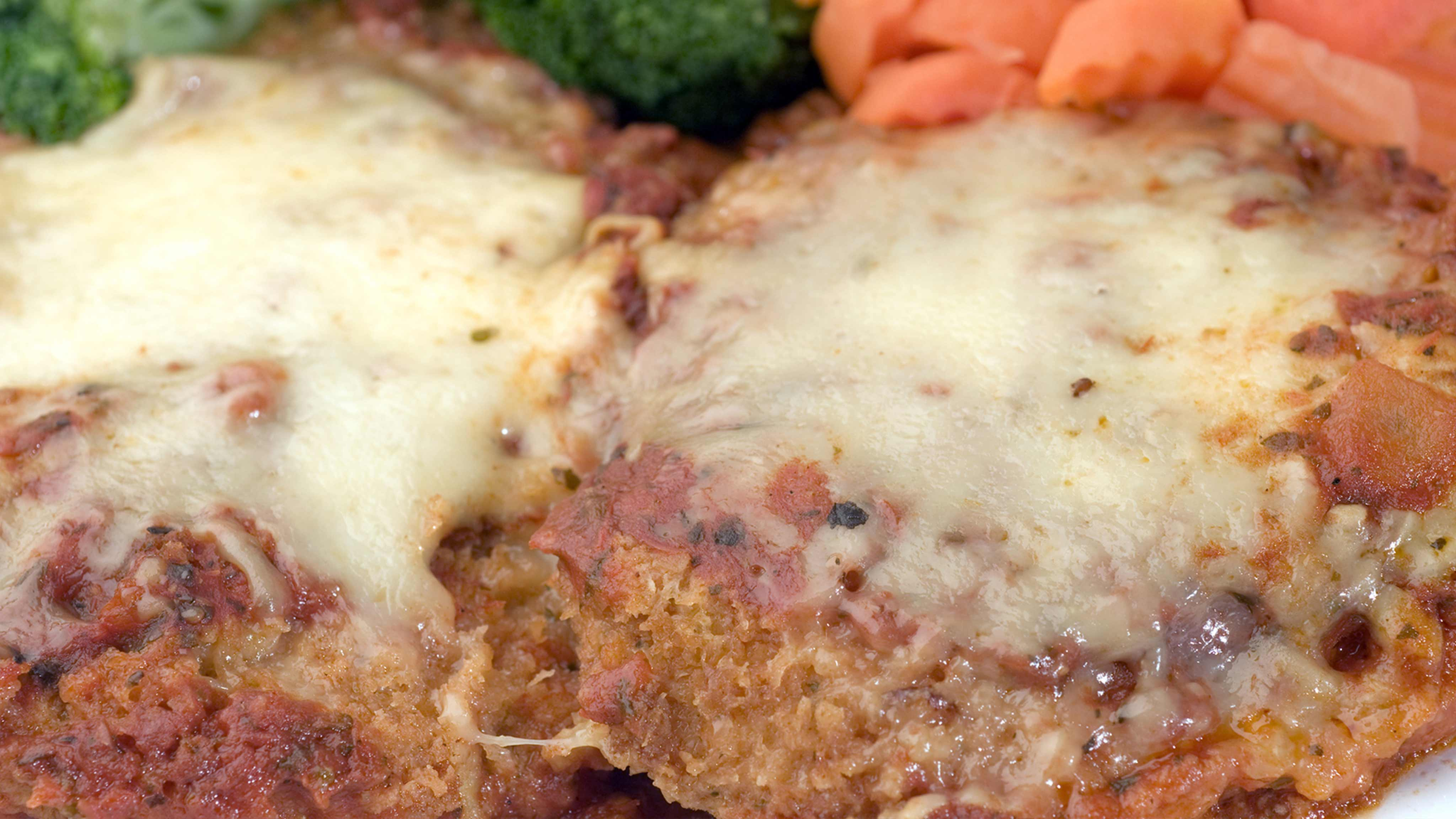 Image for Recipe Parmesan Crusted Chicken in Cream Sauce