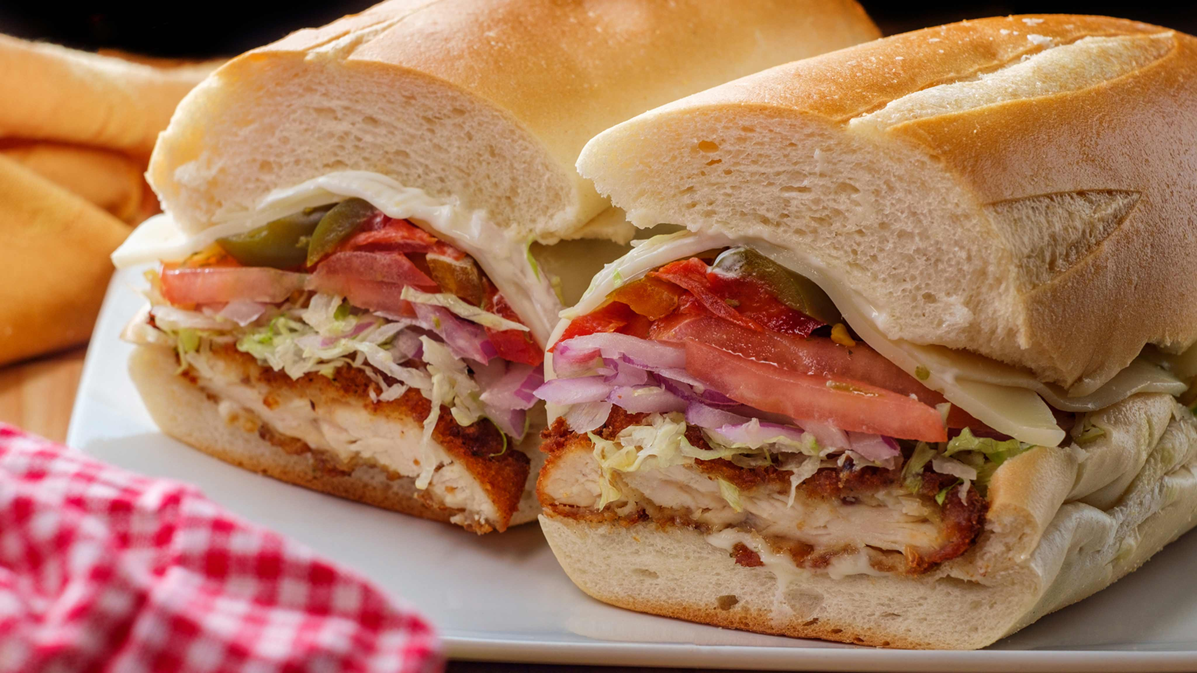 Image for Recipe Hot Italian Chicken Sandwiches
