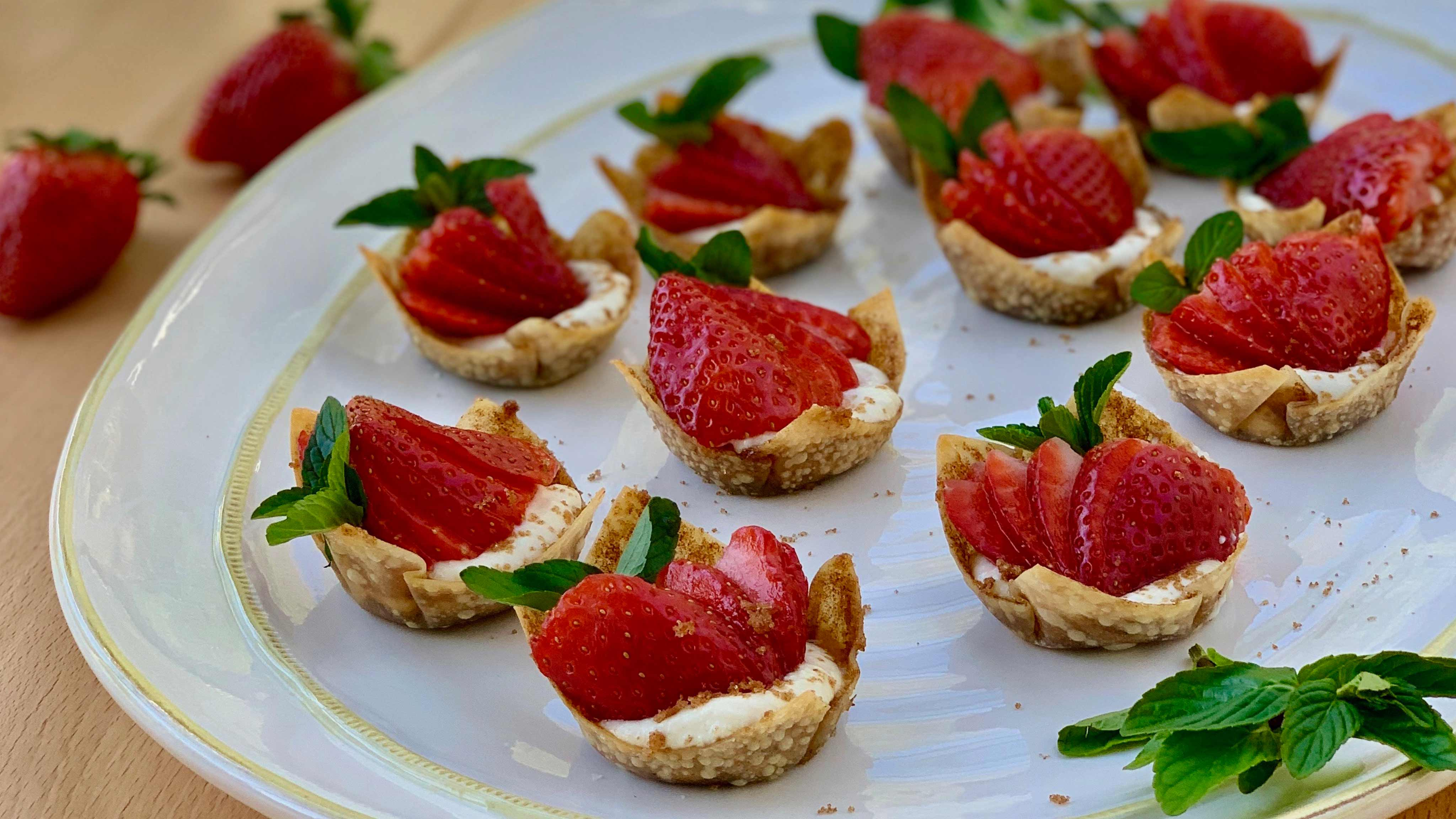 Image for Recipe Strawberry Shells