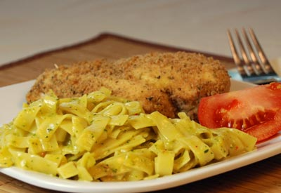 Vista foods recipe italian breaded chicken with alfredo pasta italian breaded chicken with alfredo pasta forumfinder Image collections