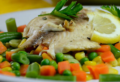 Grilled Rosemary Tilapia With Vegetables