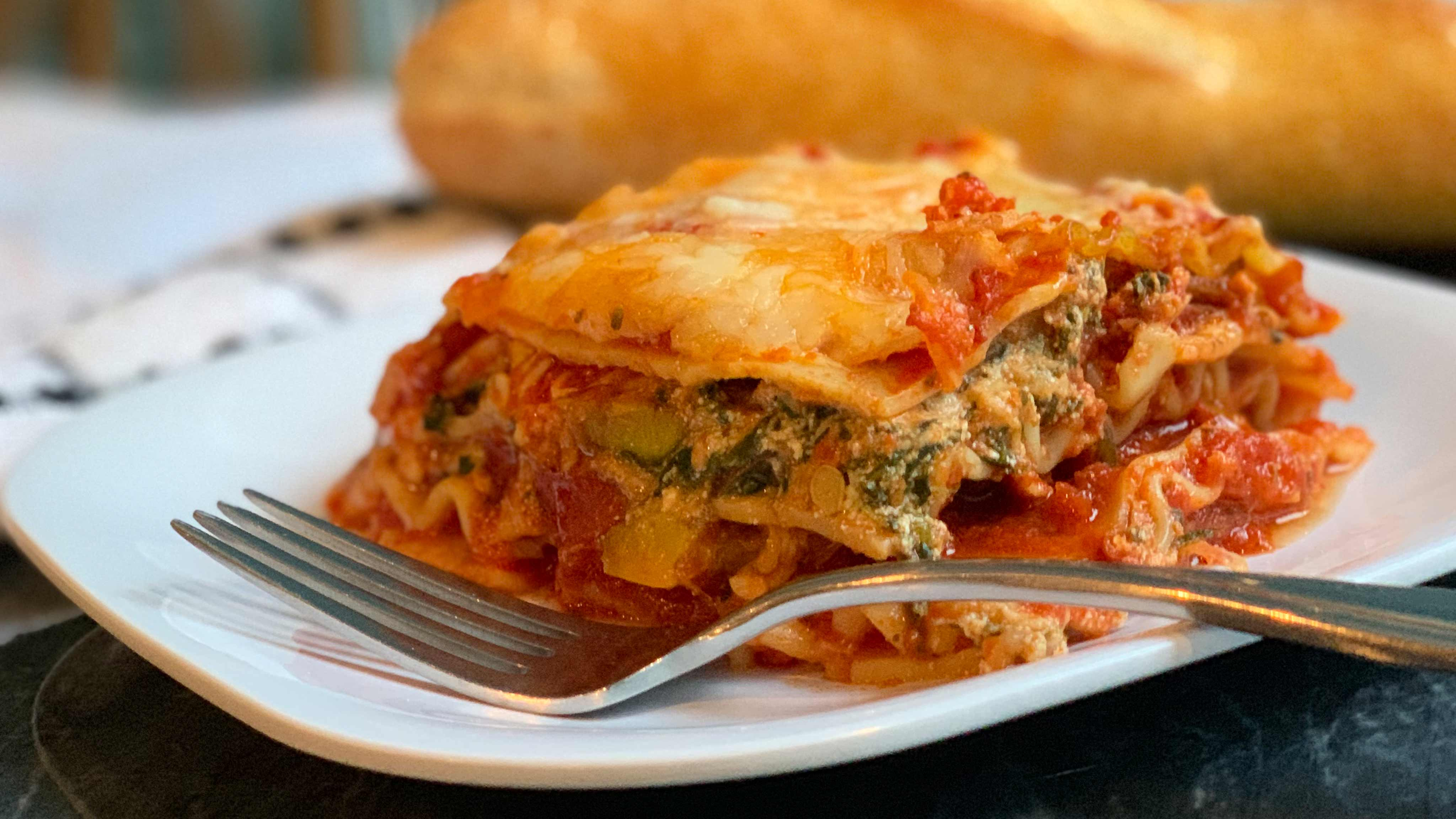 Image for Recipe Roasted Vegetable Lasagna