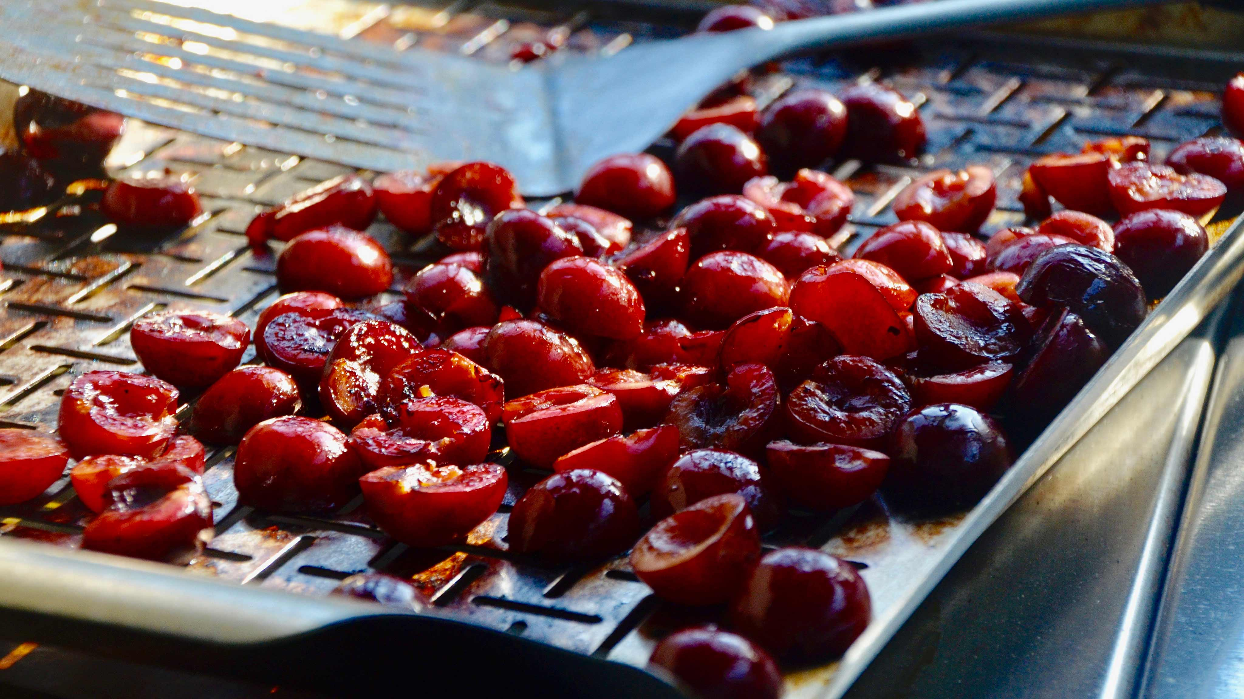 Image for Recipe Grilled Cherries