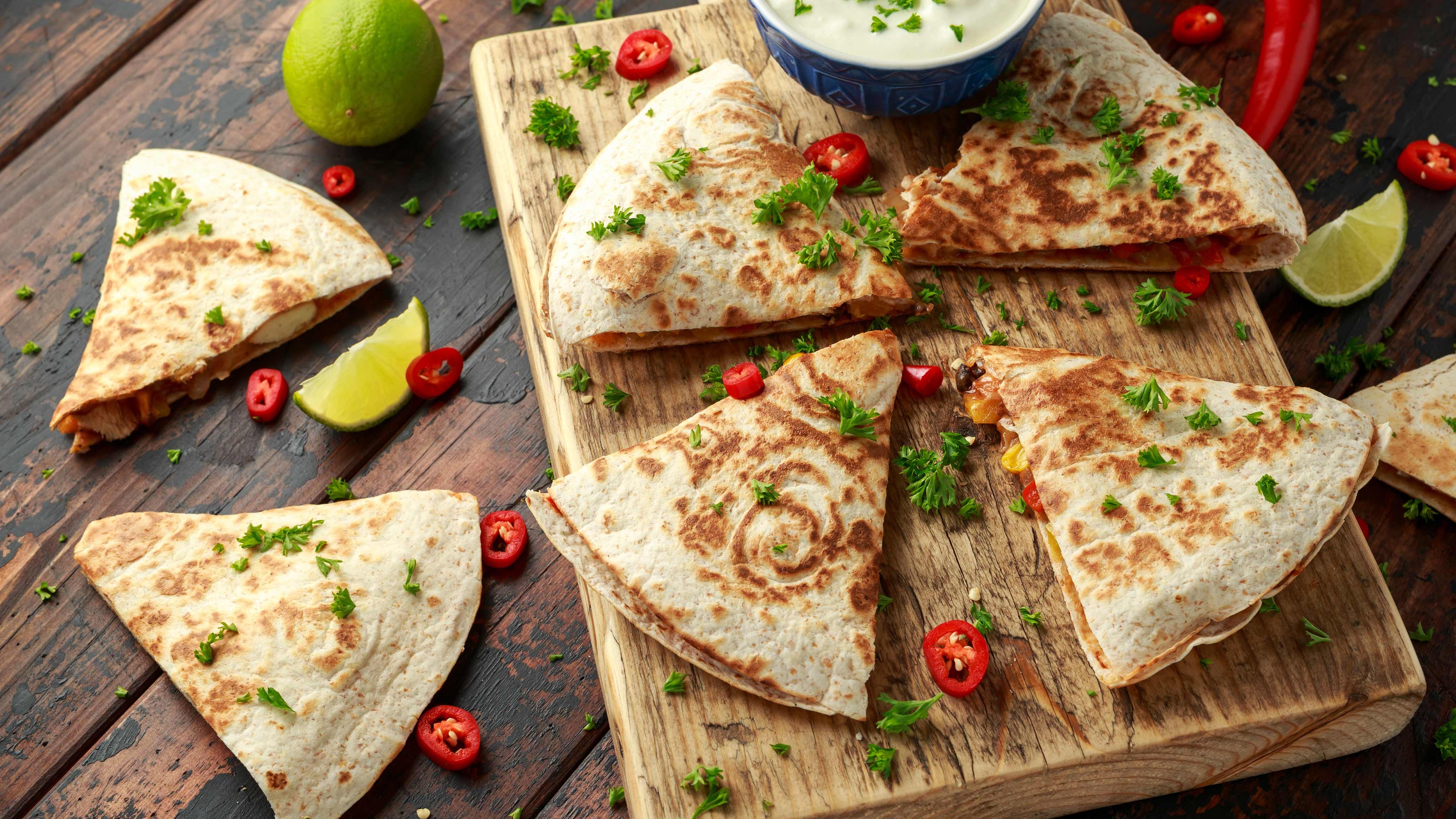 Image for Recipe Black Bean Quesadillas