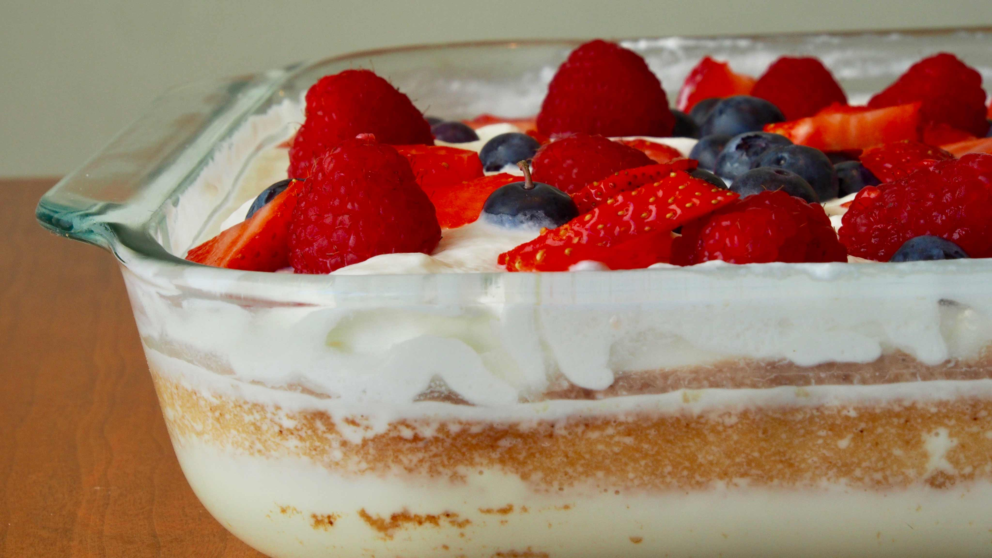 Image for Recipe Tres Leches Cake with Berries