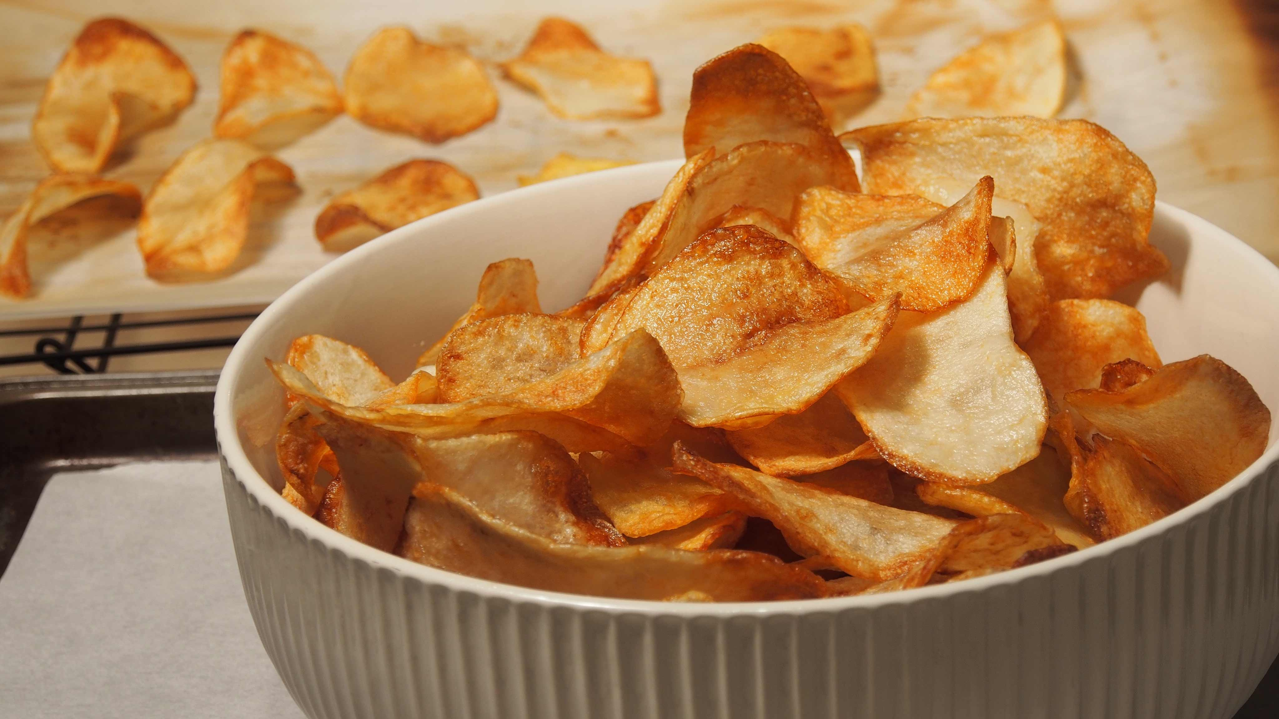 Image for Recipe Crispy Potato Chips