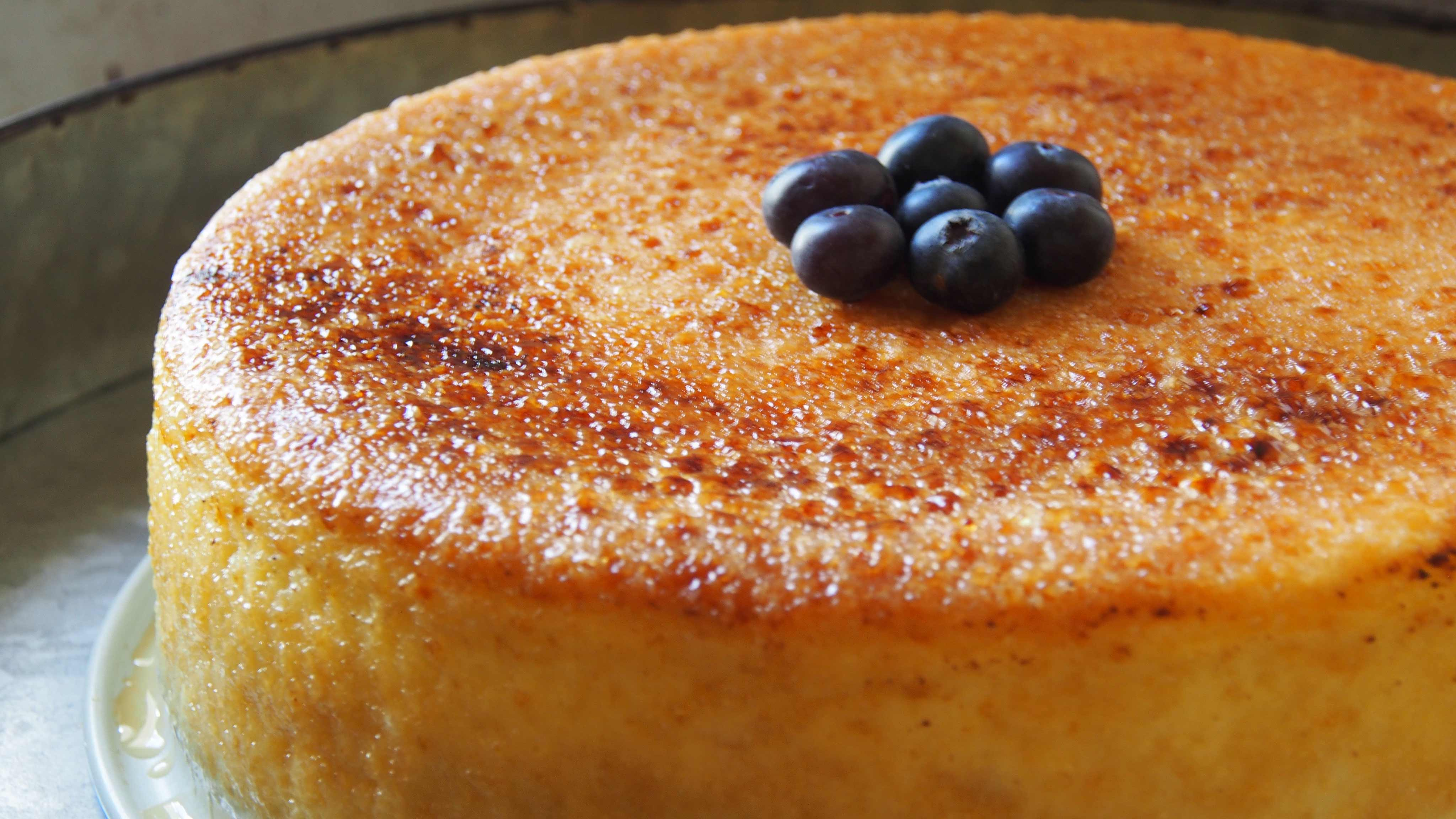 Image for Recipe Creme Brulee Cheesecake