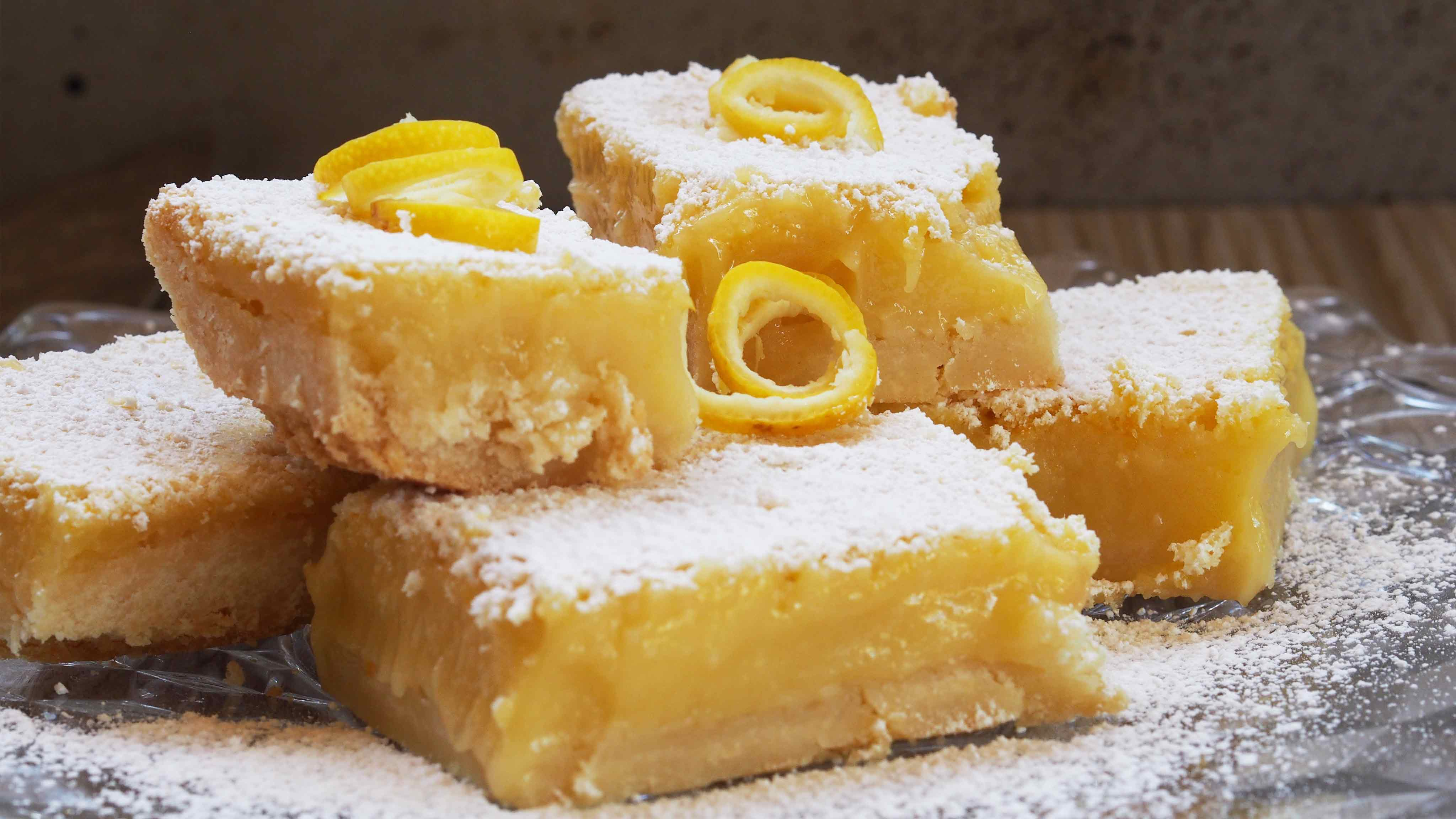 Image for Recipe Meyer Lemon Bars