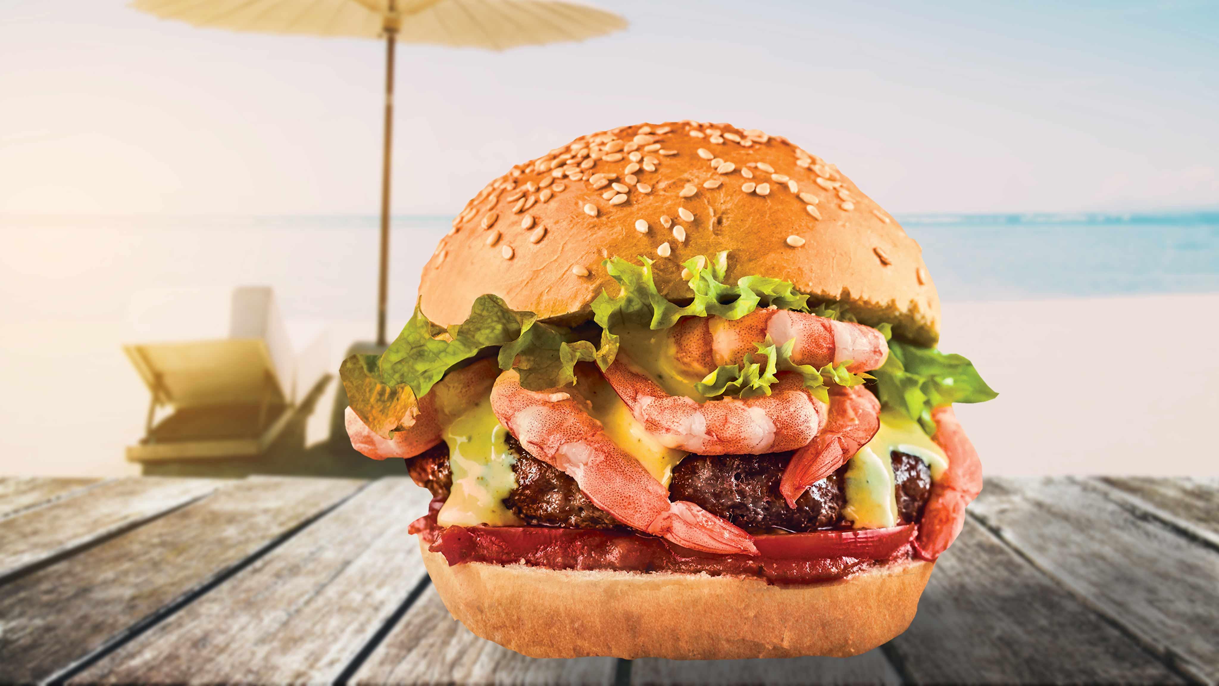 Image for Recipe Shrimp Scampi Burger