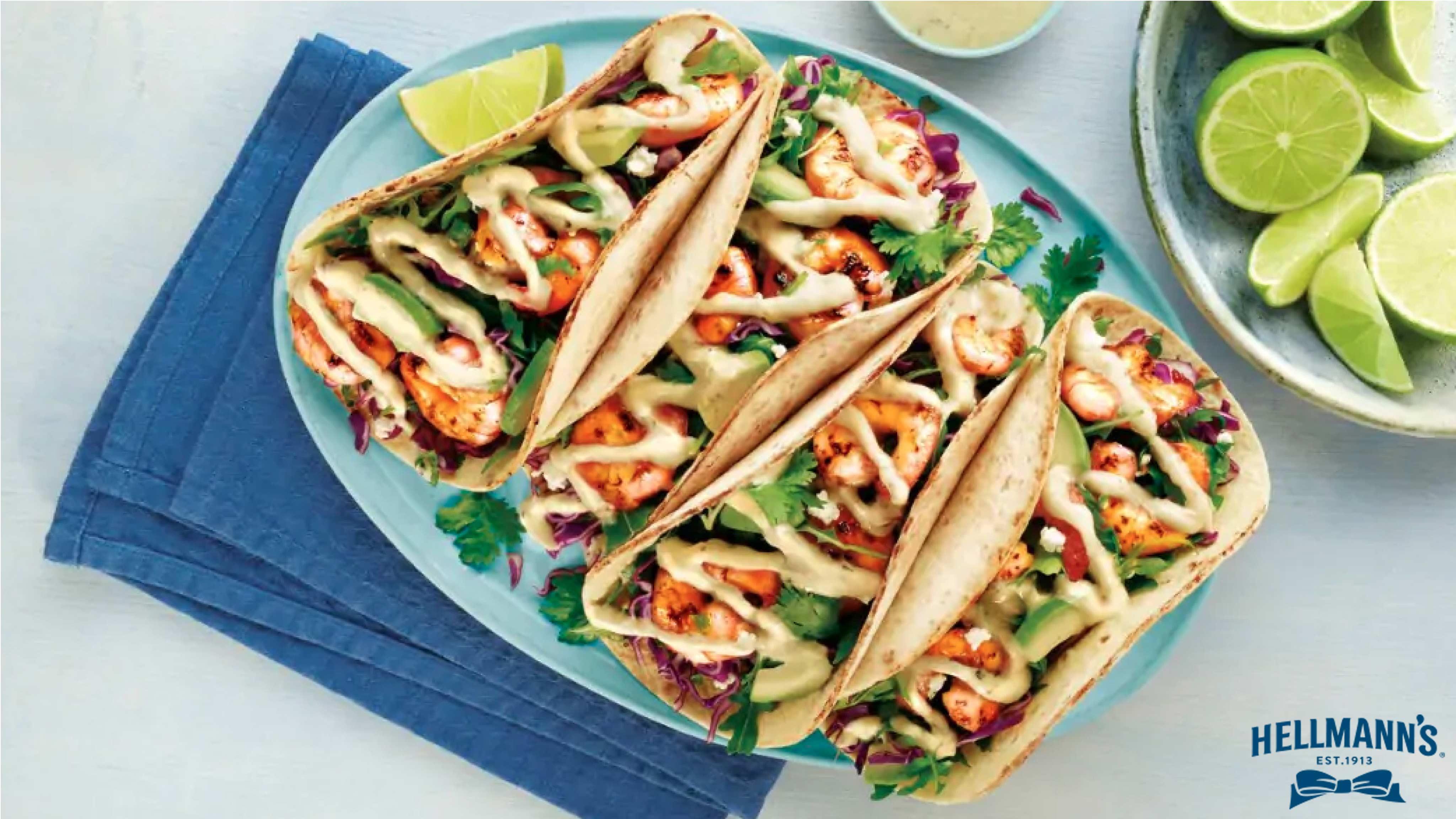 Image for Recipe Cilantro Lime Shrimp Tacos