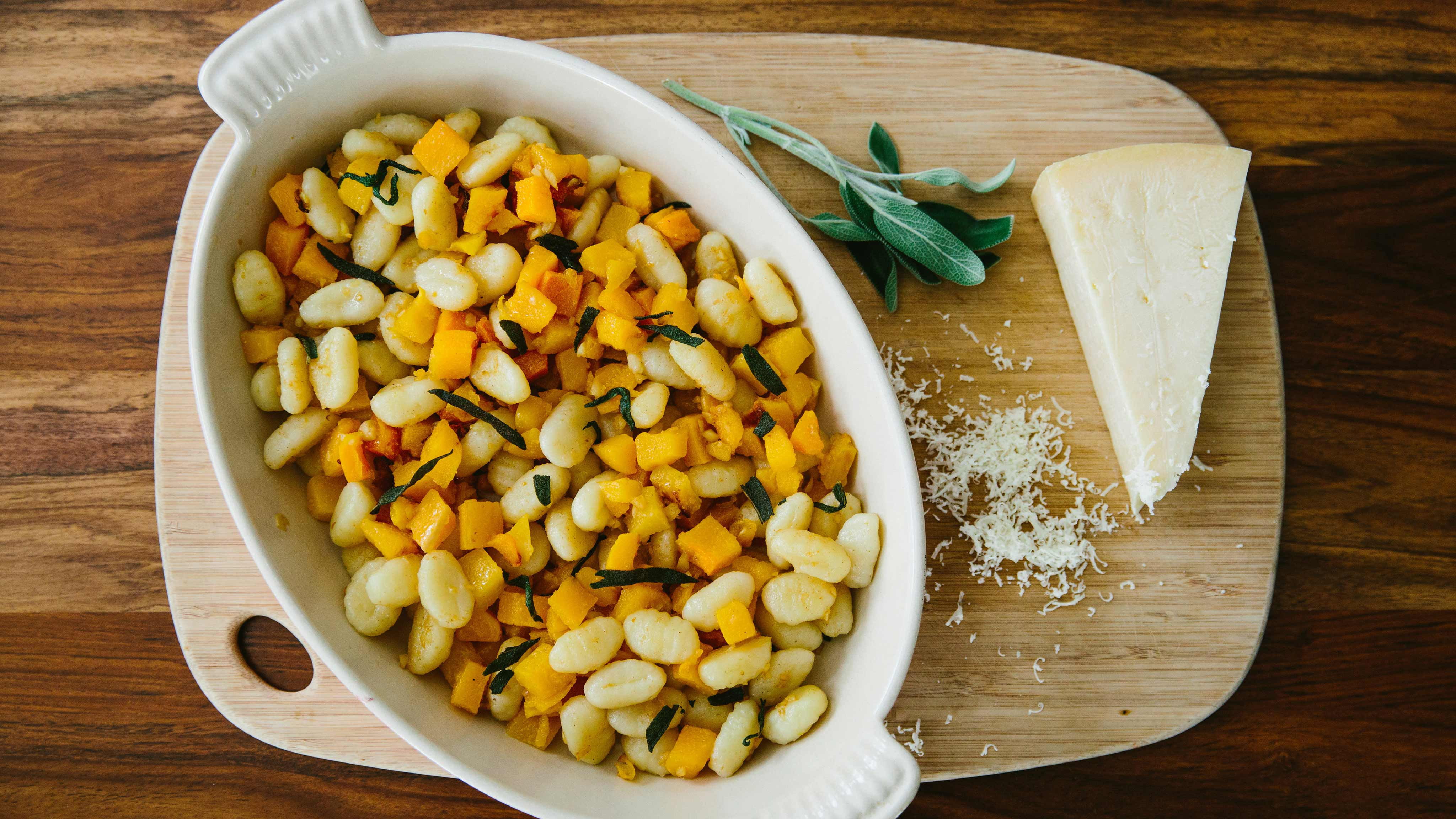 Image for Recipe Butternut Squash Gnocchi with Crispy Sage