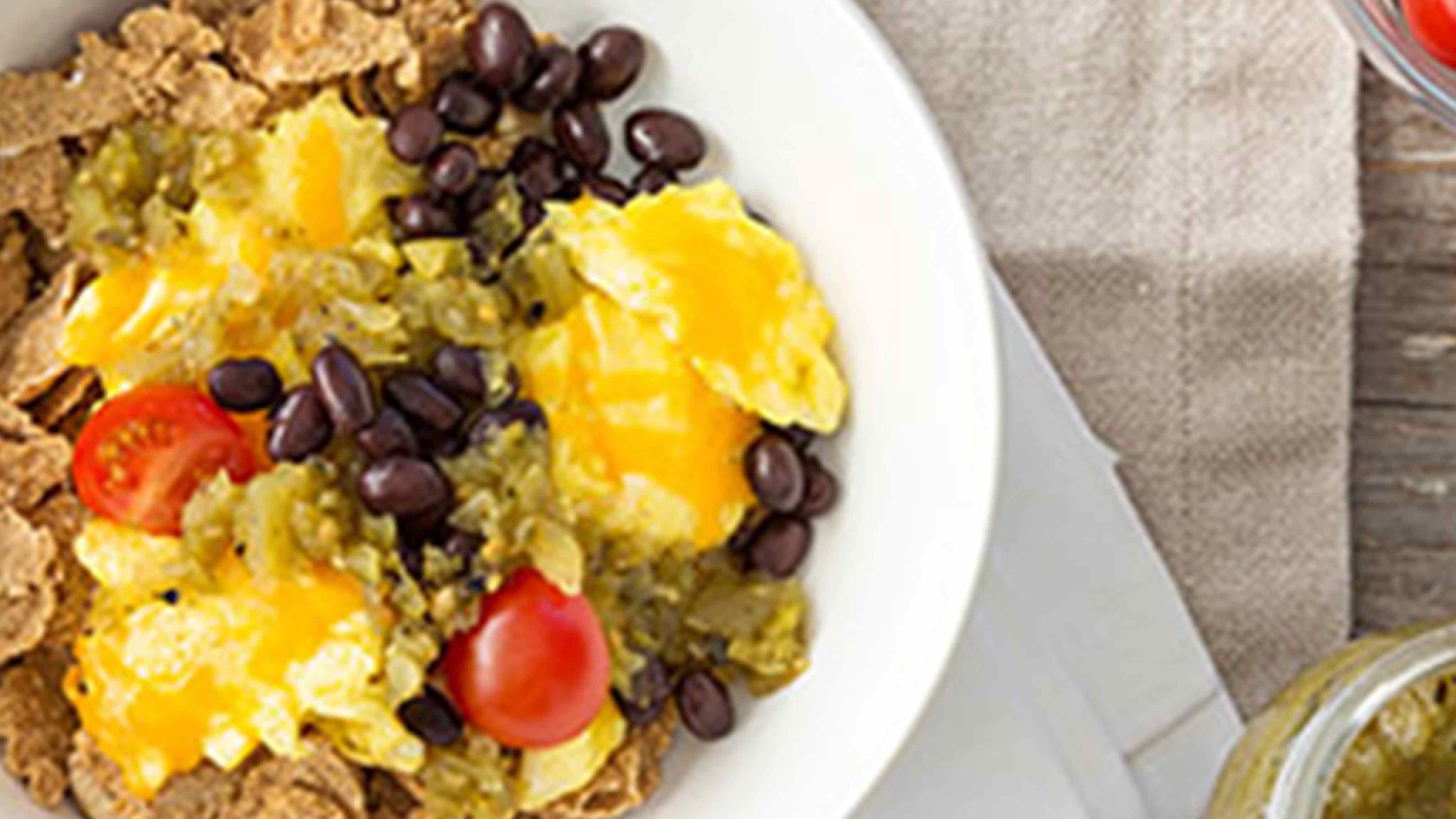 Image for Recipe Southwestern Breakfast Burrito Bowl