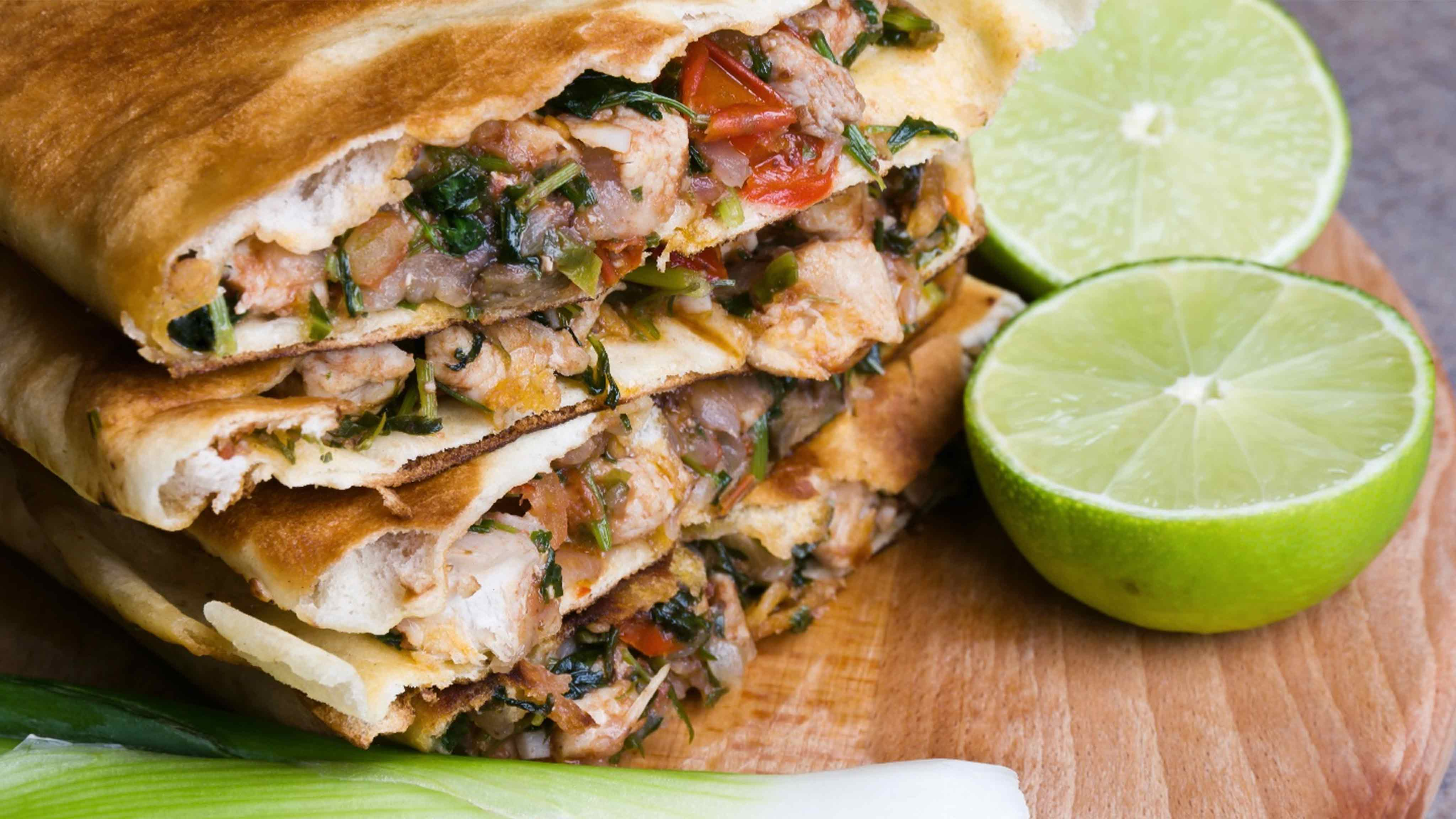 Image for Recipe Steak Chimichurri Quesadillas