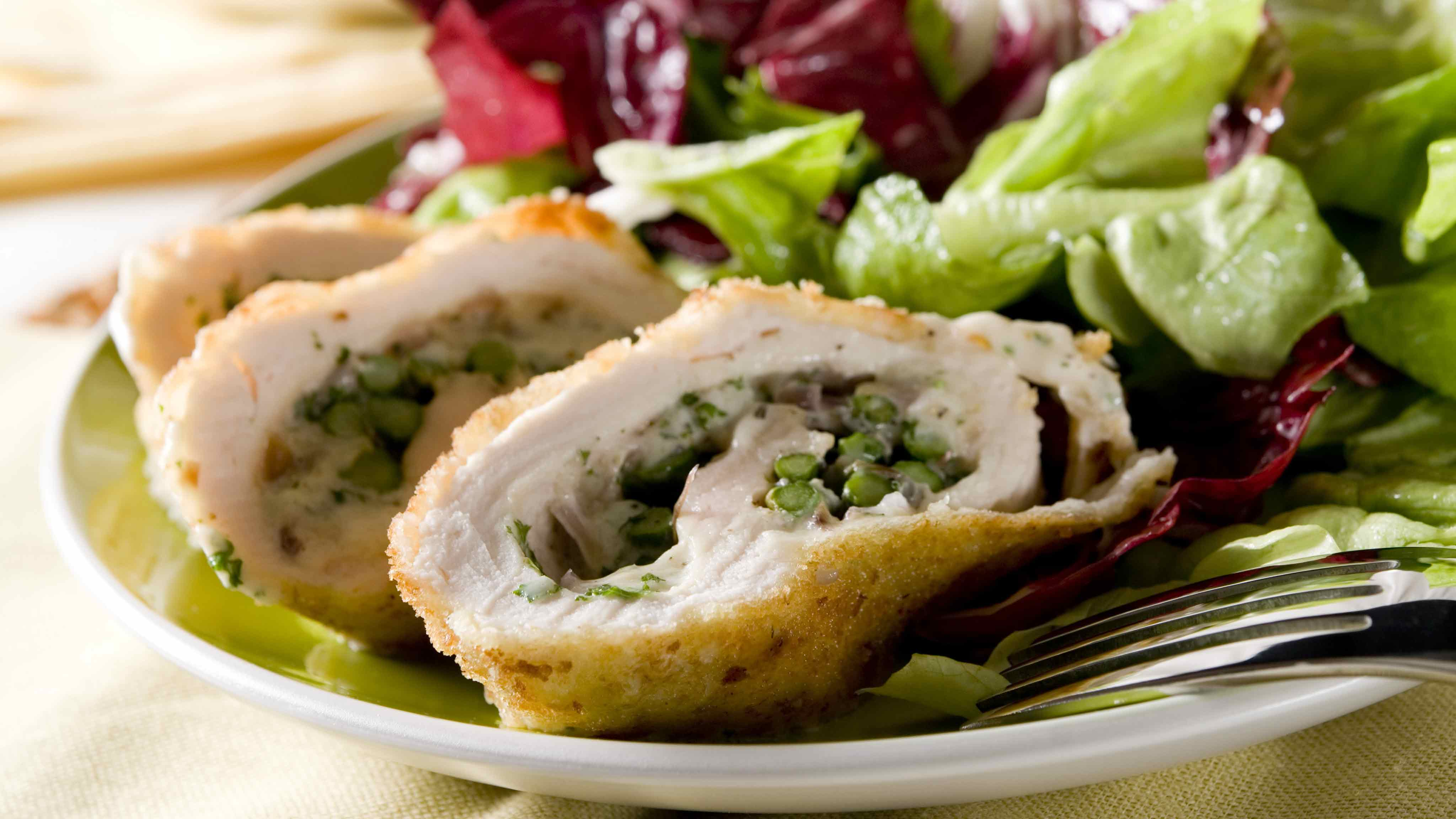 Image for Recipe Asparagus and Cheese Stuffed Chicken Breast