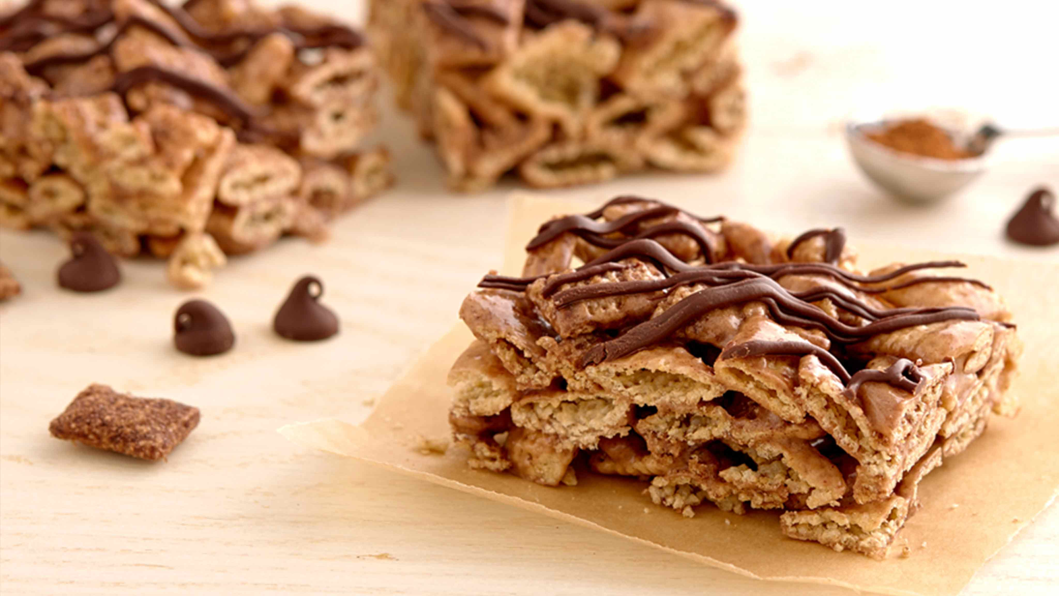 Image for Recipe Gluten-Free Chili-Chocolate Cereal Bars