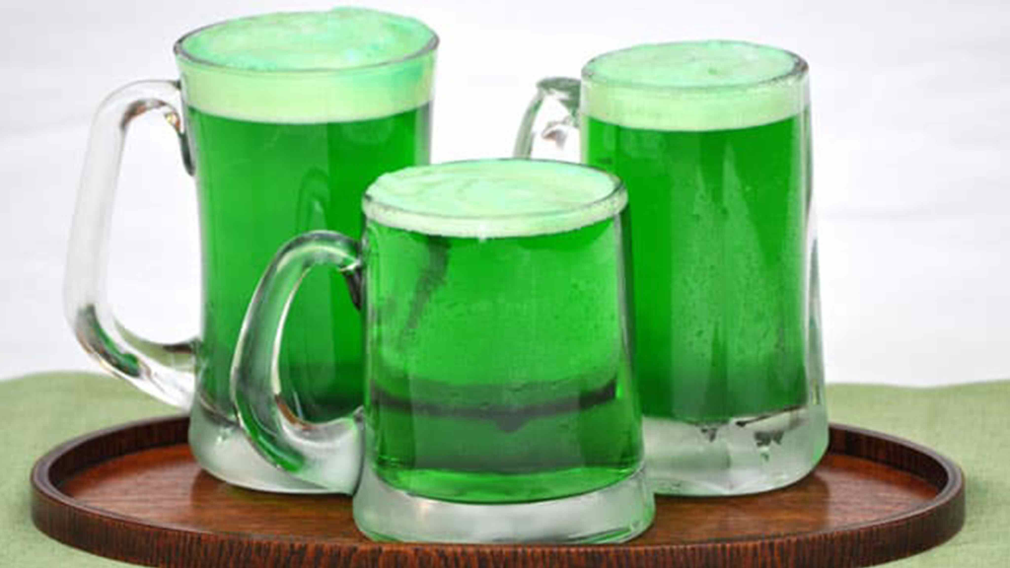 Image for Recipe How to Make Green Beer