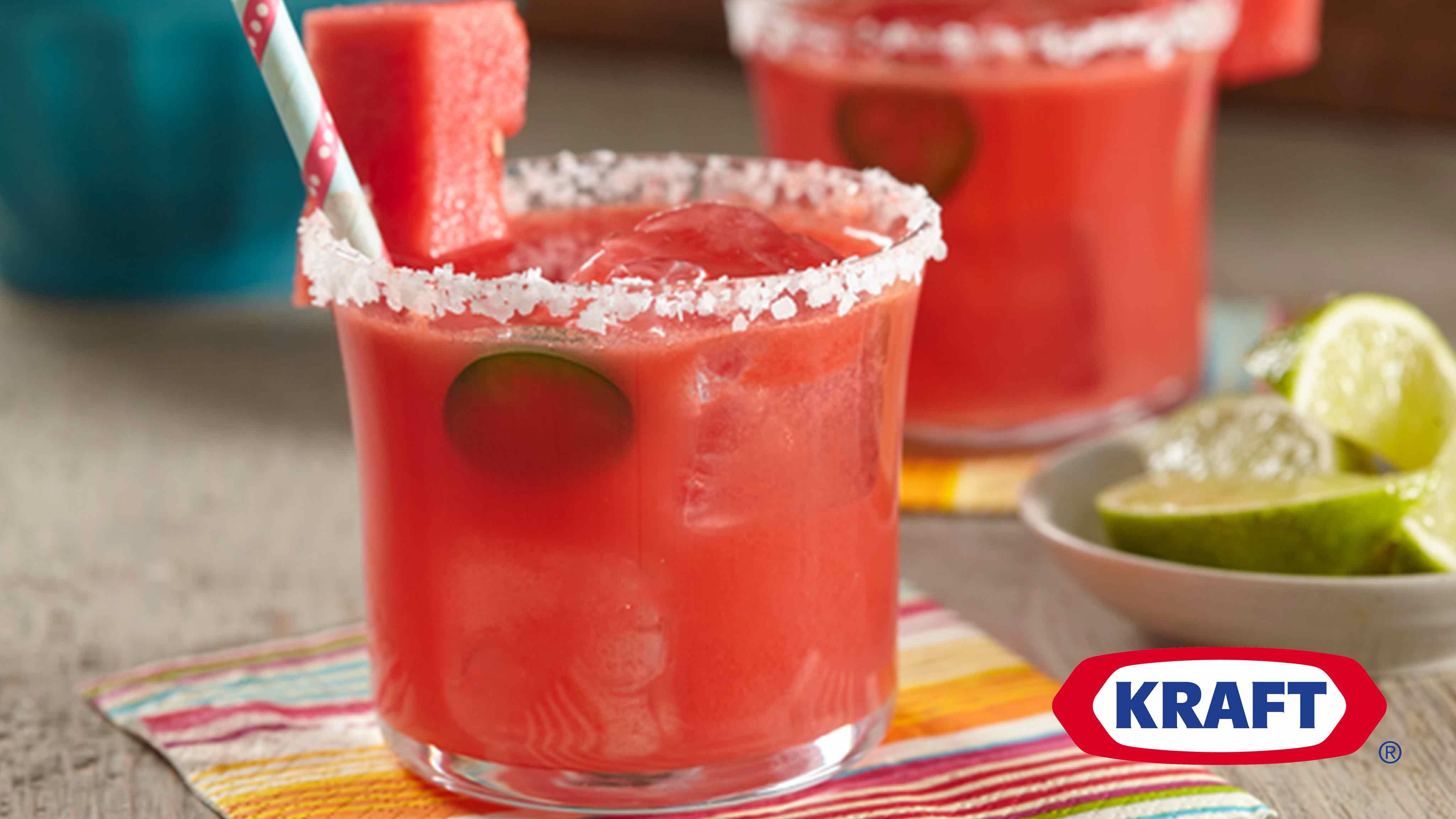 Image for Recipe Watermelon Jalapeno Margarita
