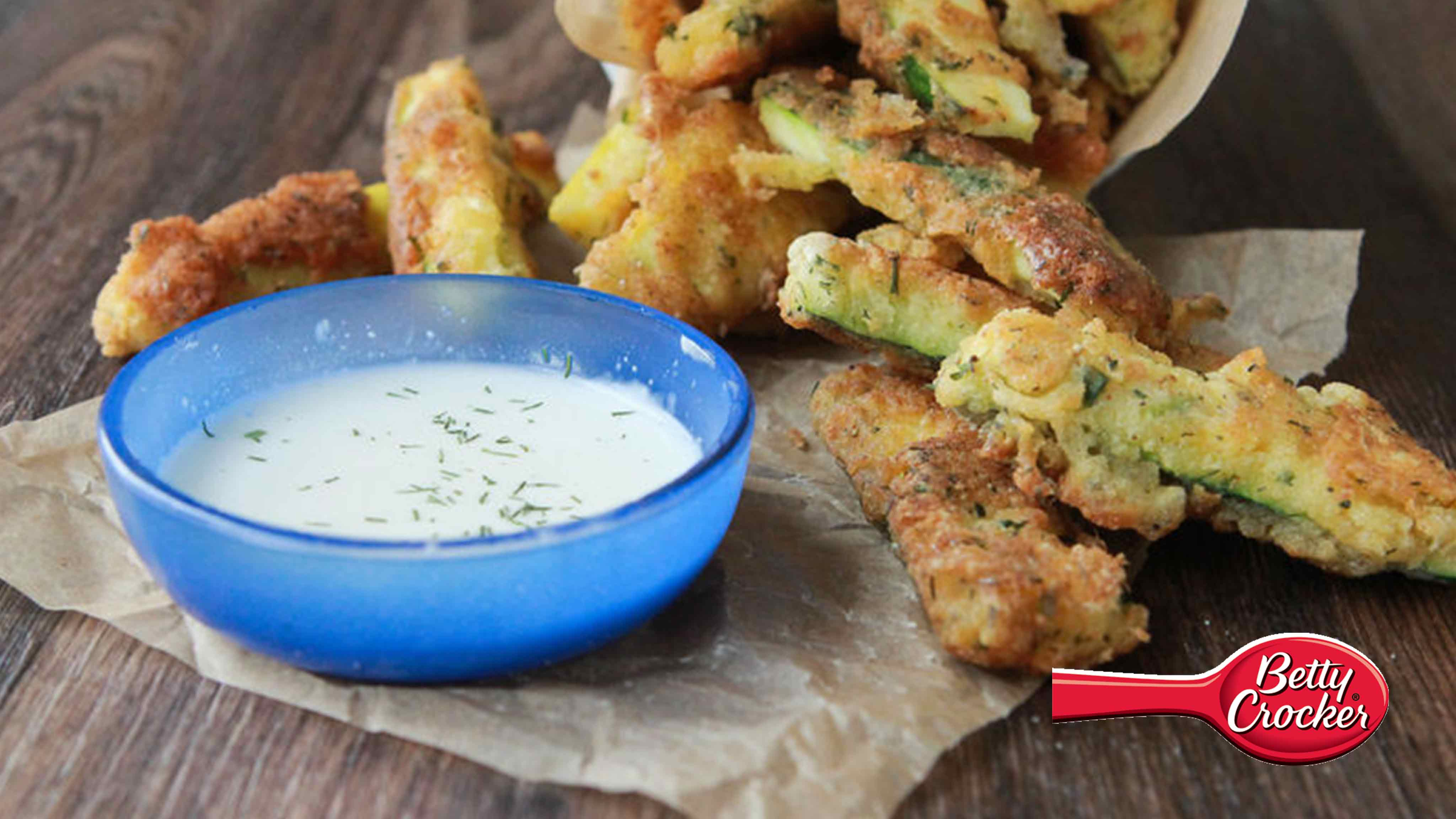 Image for Recipe Ranch Fried Zucchini