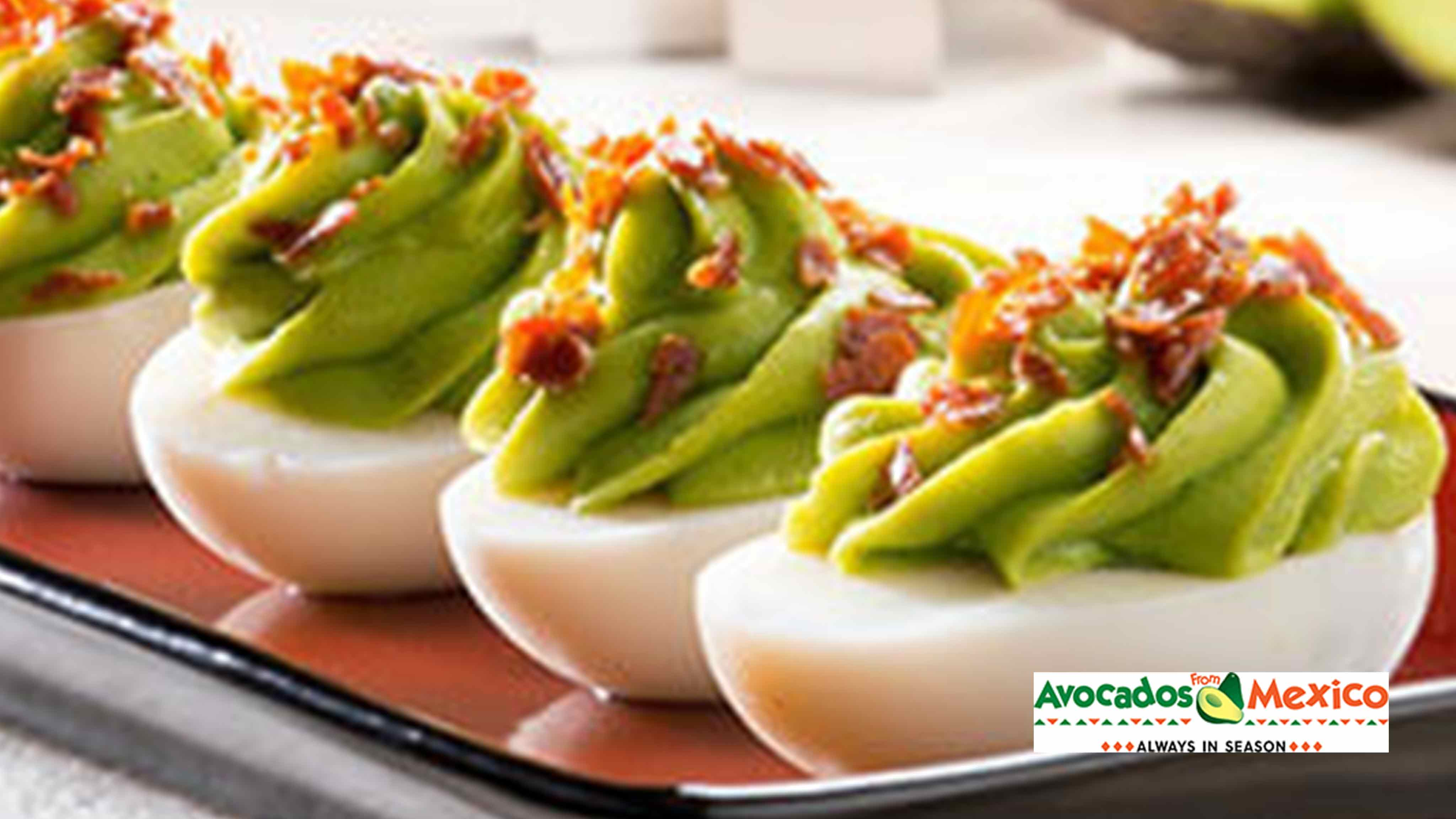 Image for Recipe Avocado Deviled Eggs
