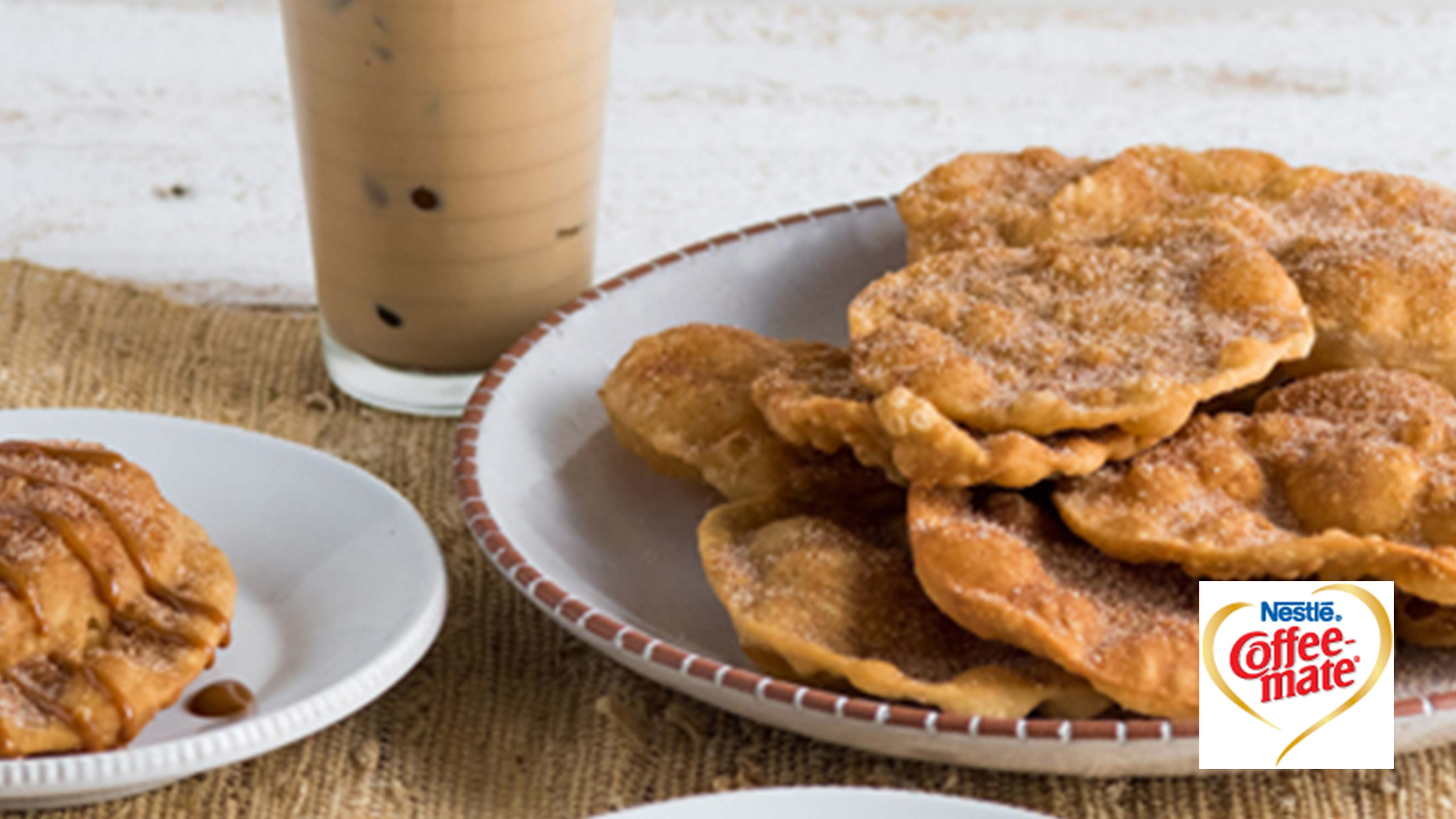 Image for Recipe Caramel Coffee Bunuelos (Fritters)