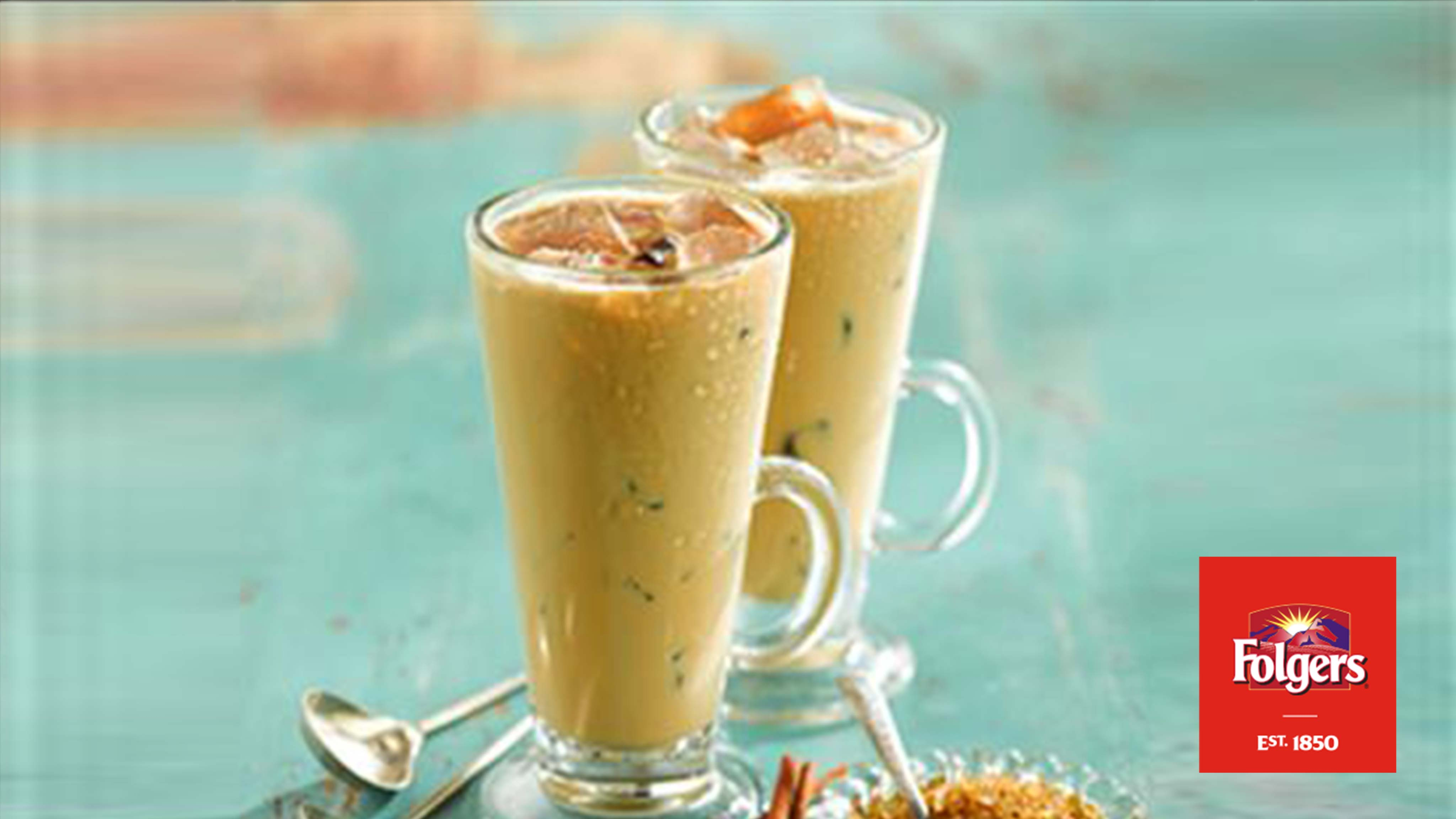 Image for Recipe Cinnamon Spiced Iced Coffee