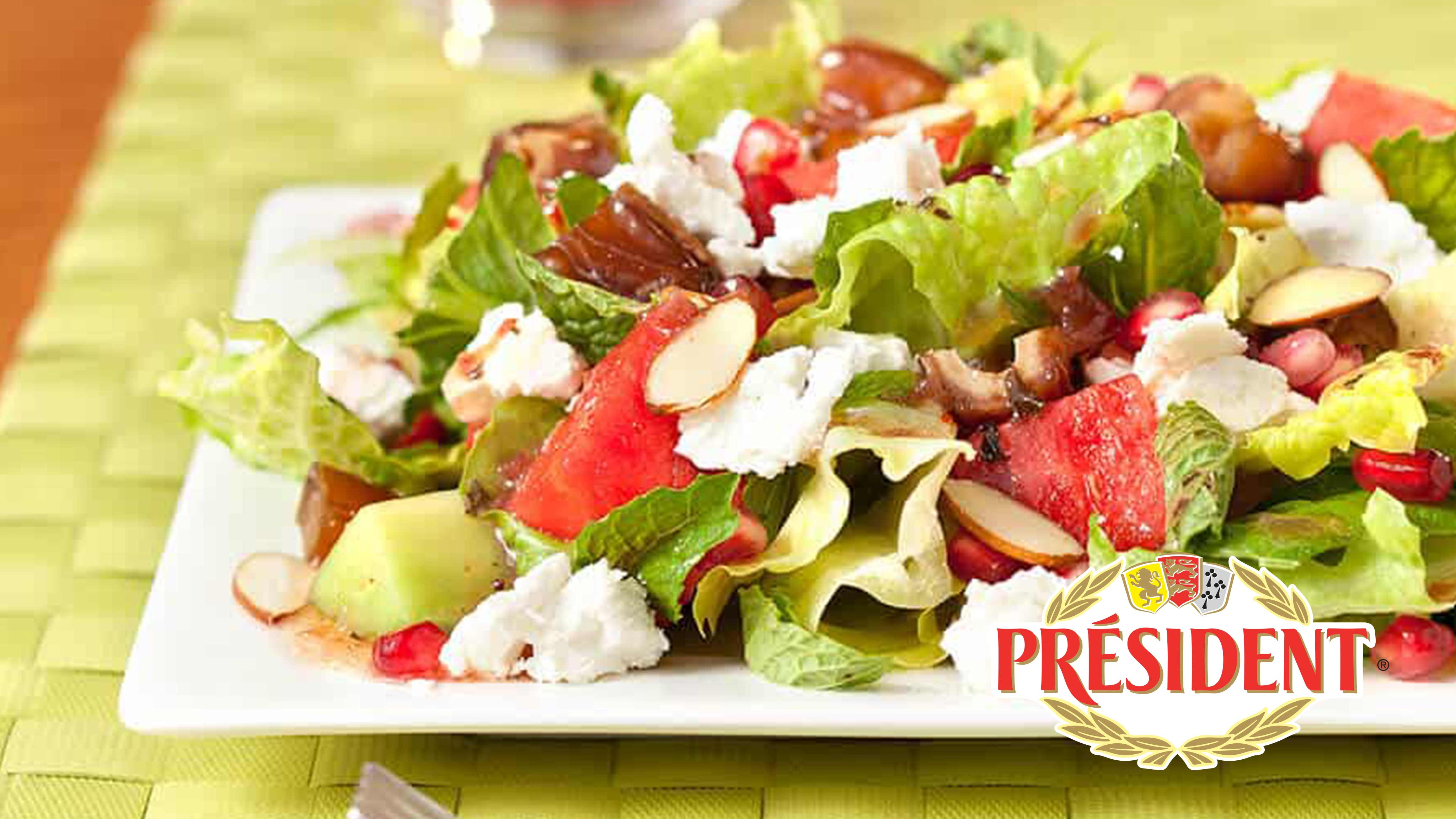 Image for Recipe Watermelon Summer Salad with Feta