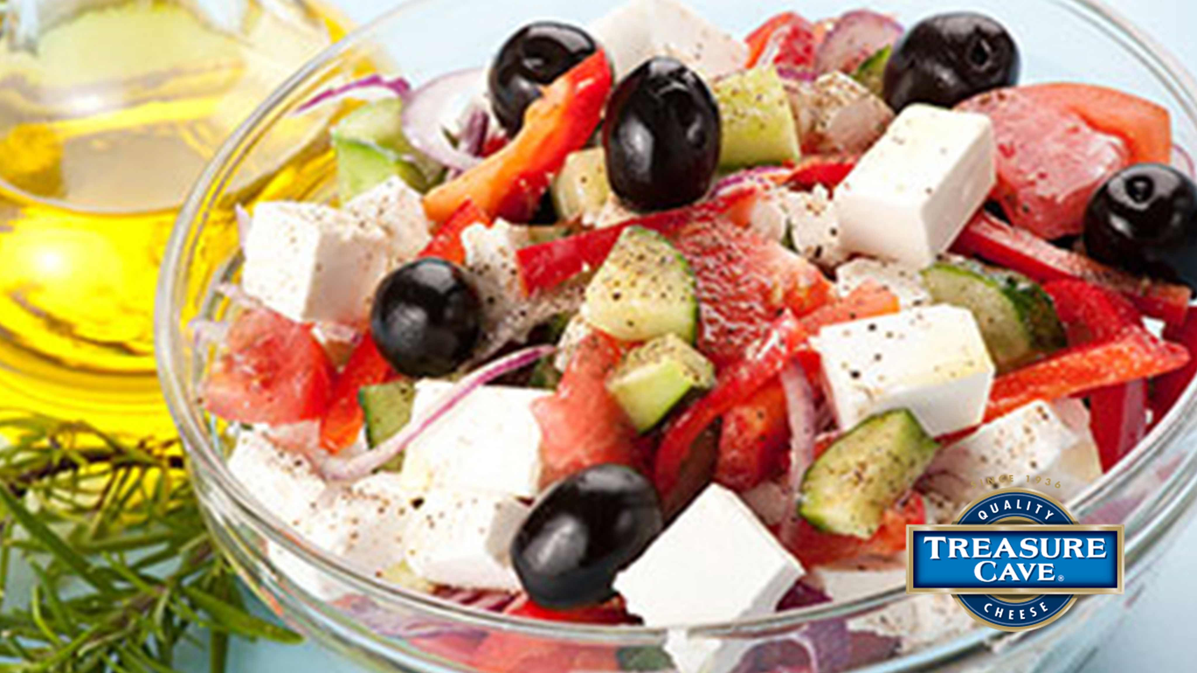 Image for Recipe Feta Cheese Greek Salad