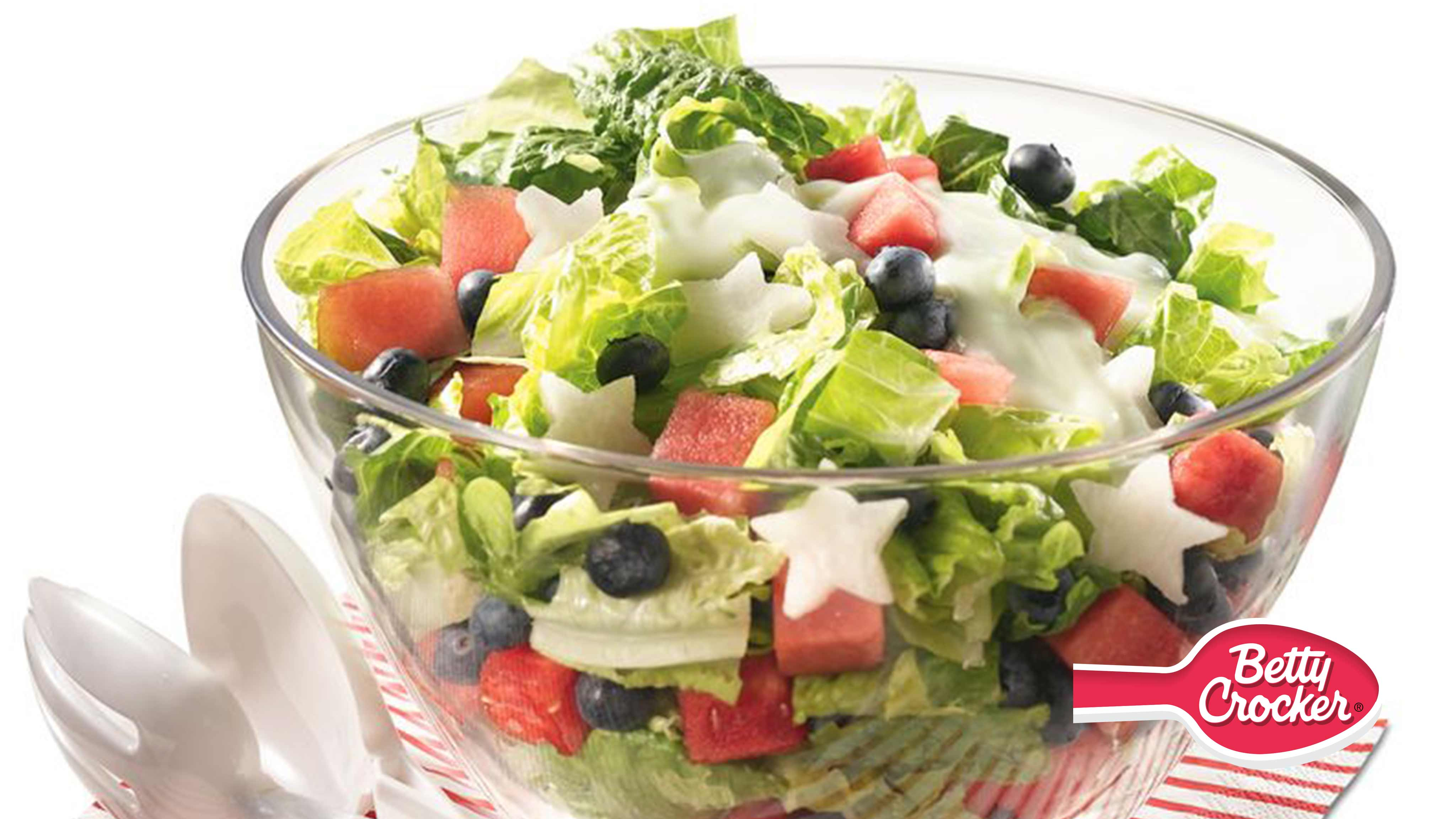 Image for Recipe Gluten Free Red, White and Blueberry Salad