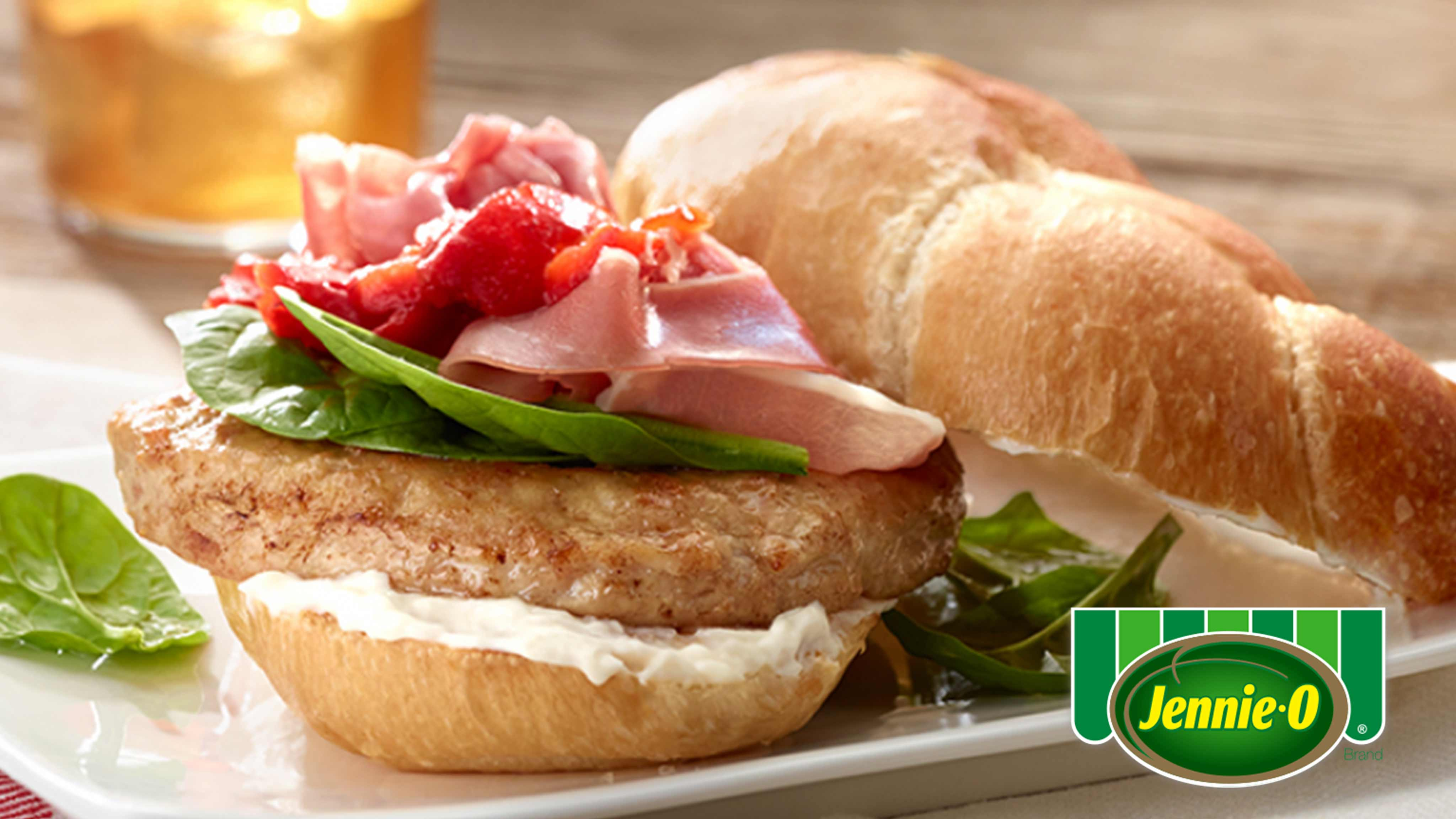 Image for Recipe Saltimbocca Turkey Burger