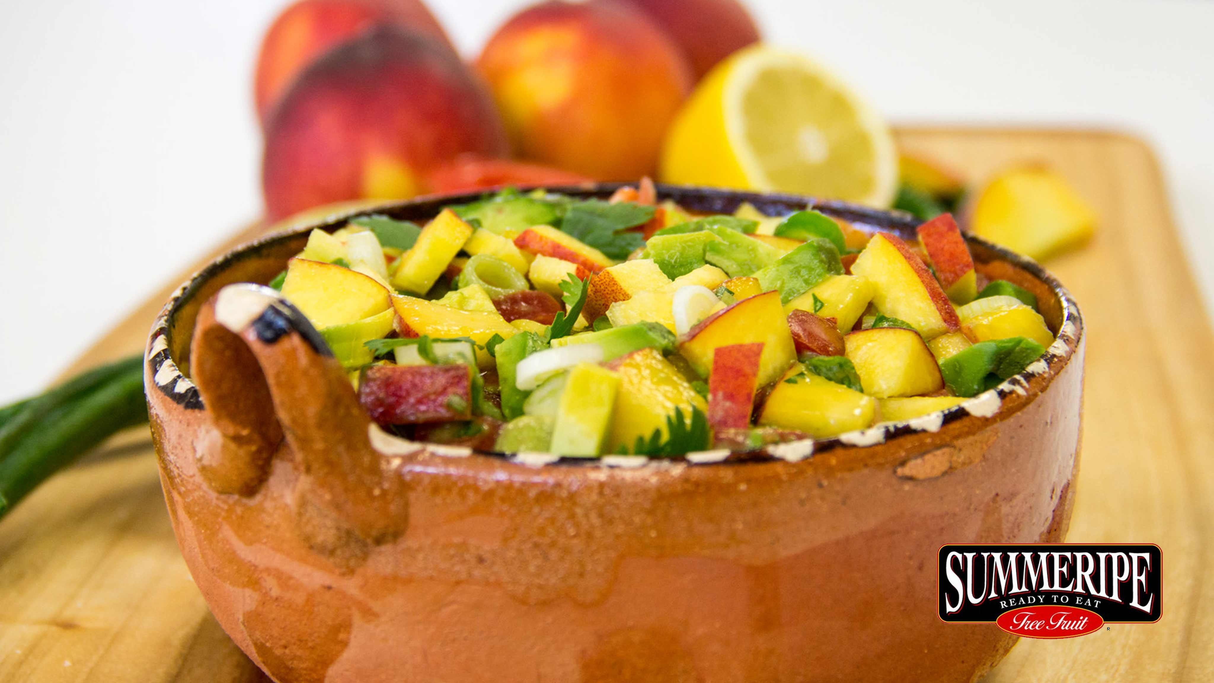 Image for Recipe Summeripe Peach Salsa