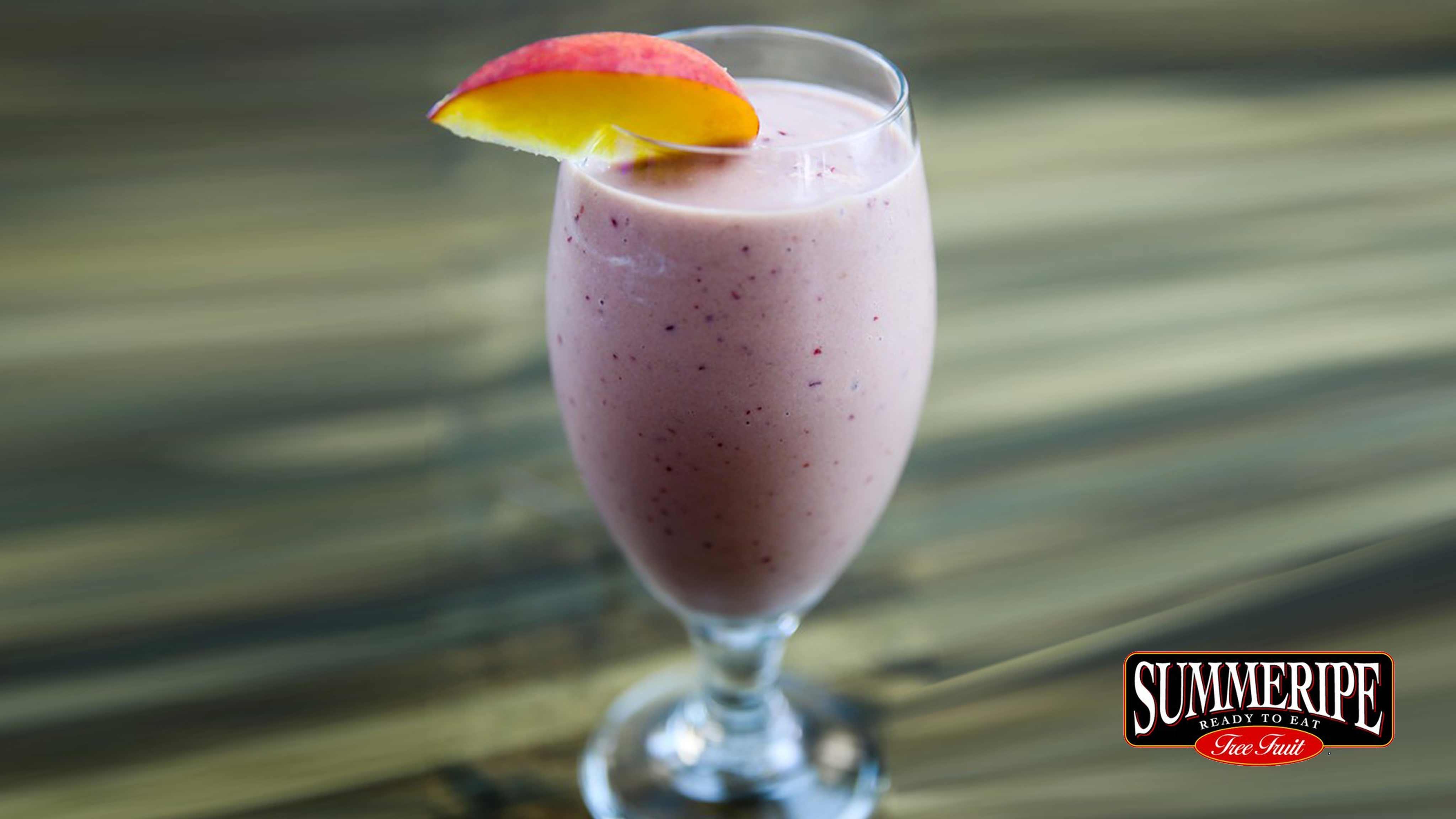 Image for Recipe Summeripe Peach Smoothie