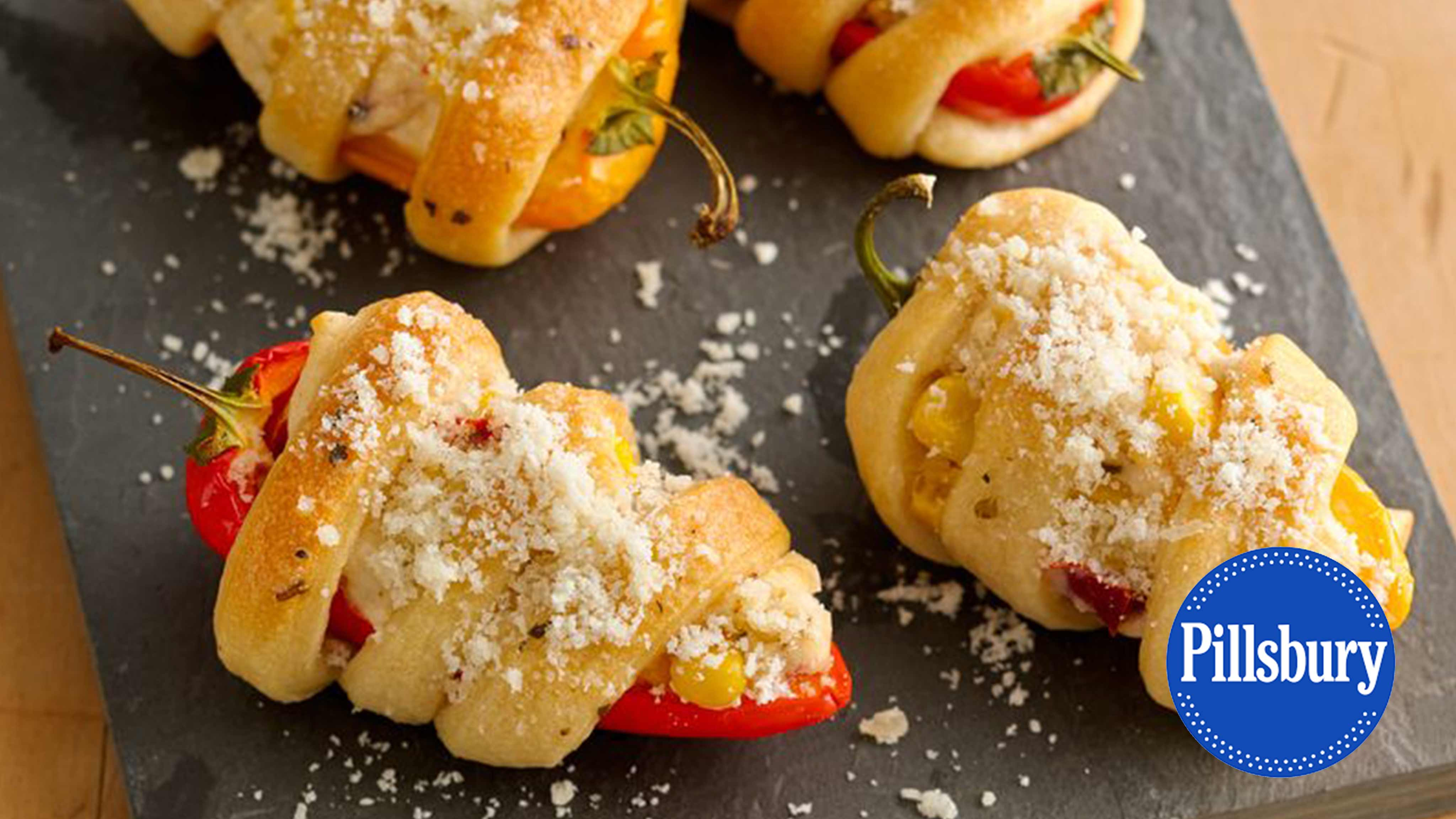 Image for Recipe Creamy Corn Filled Sweet Peppers
