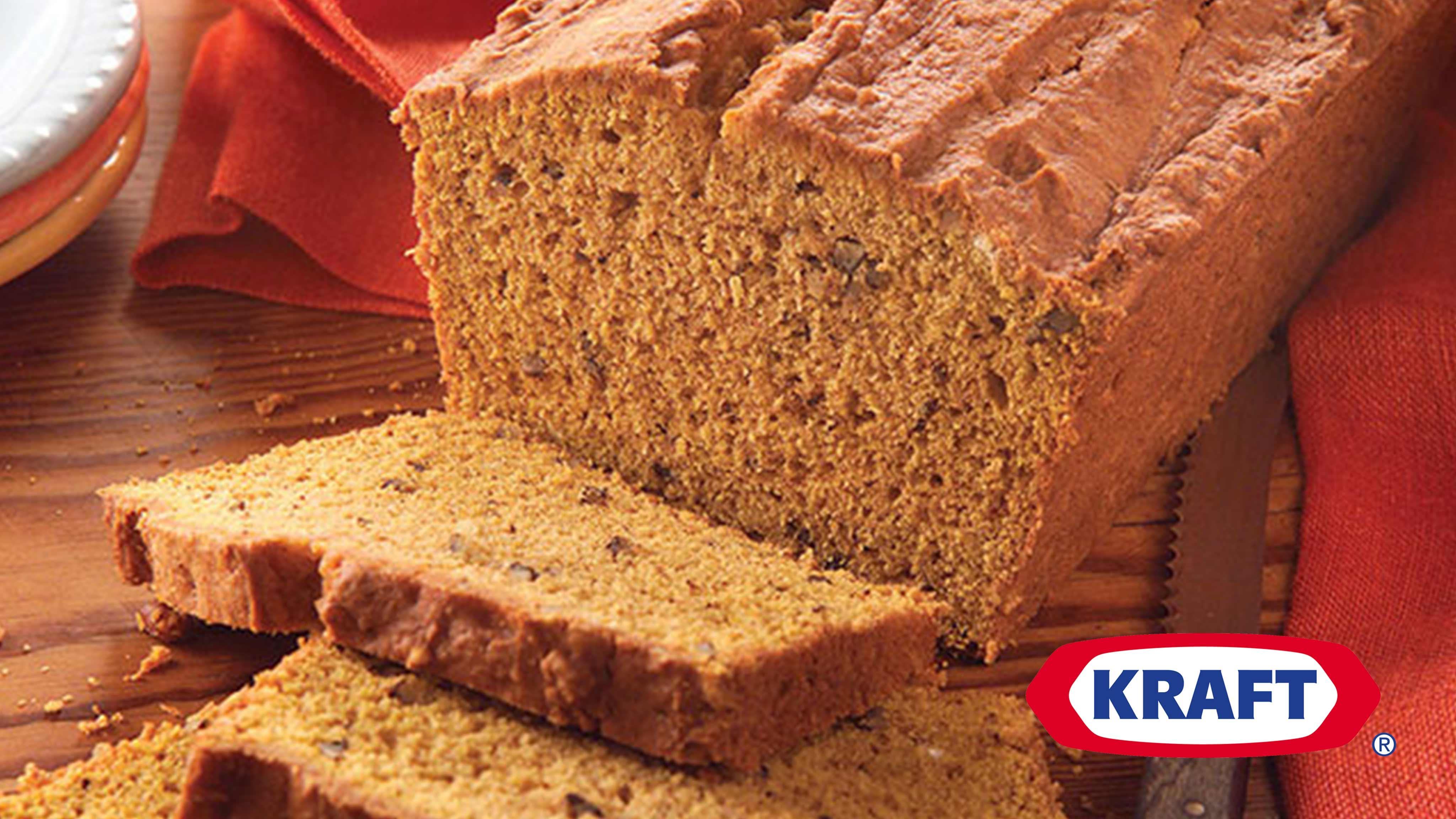 Image for Recipe Pumpkin-Cream Cheese Bread
