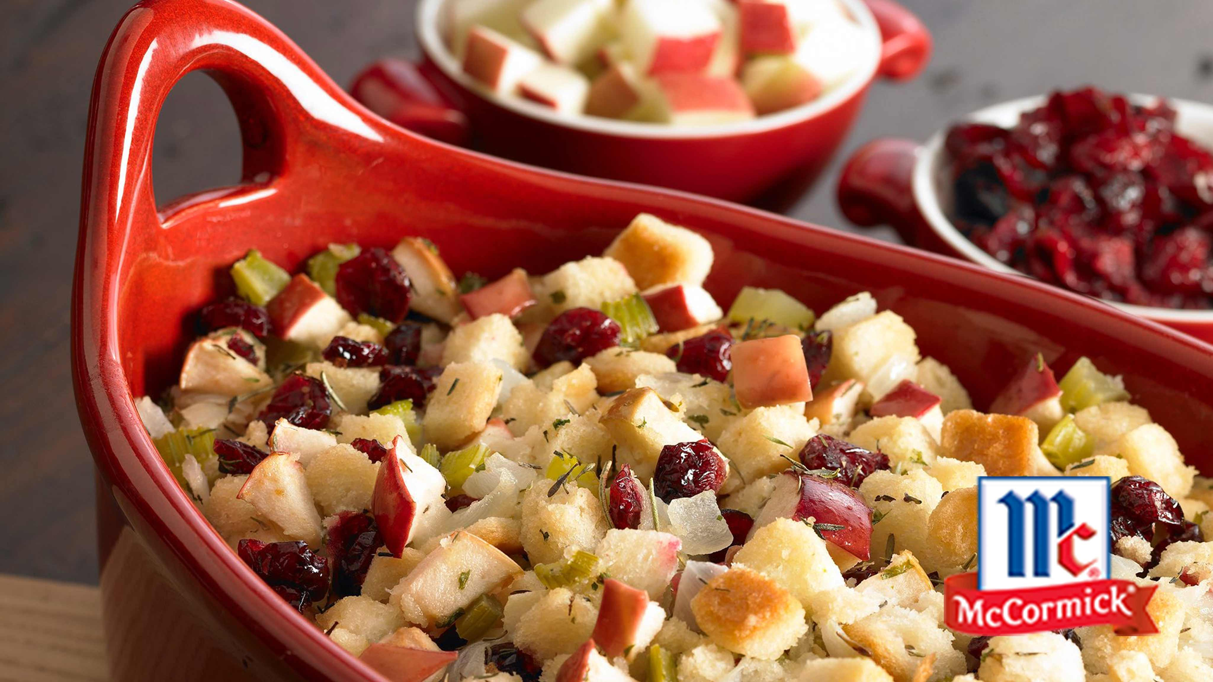 Image for Recipe Cranberry Apple Stuffing