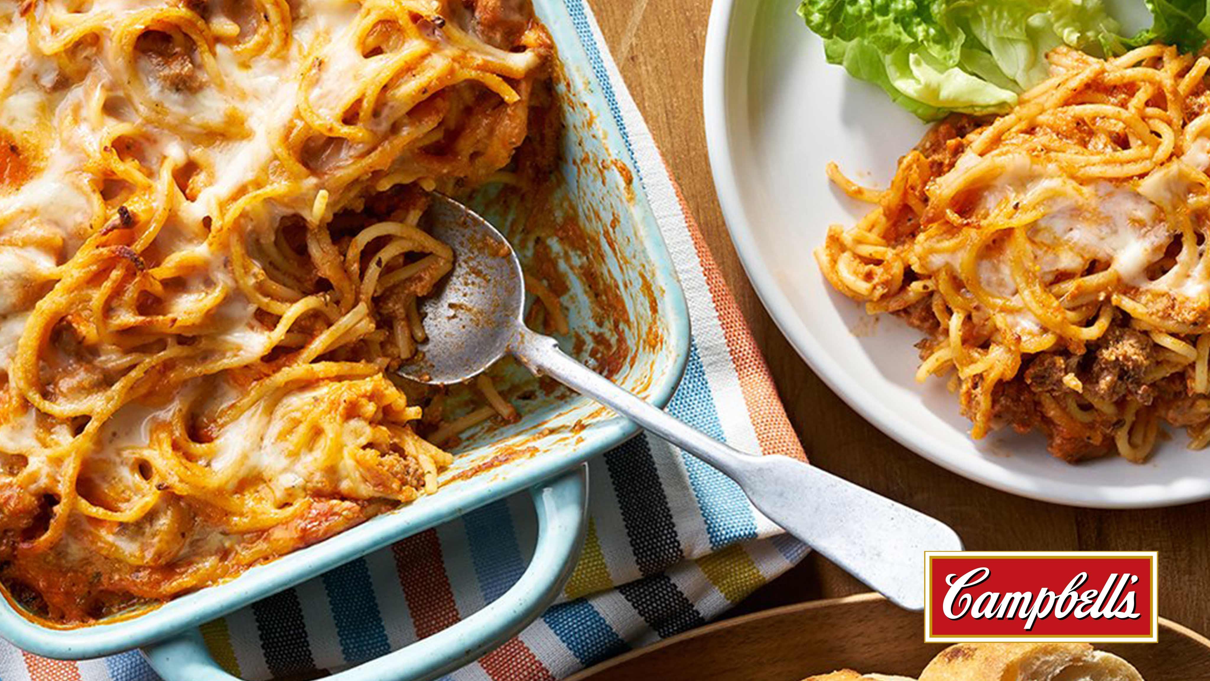 Image for Recipe Baked Spaghetti