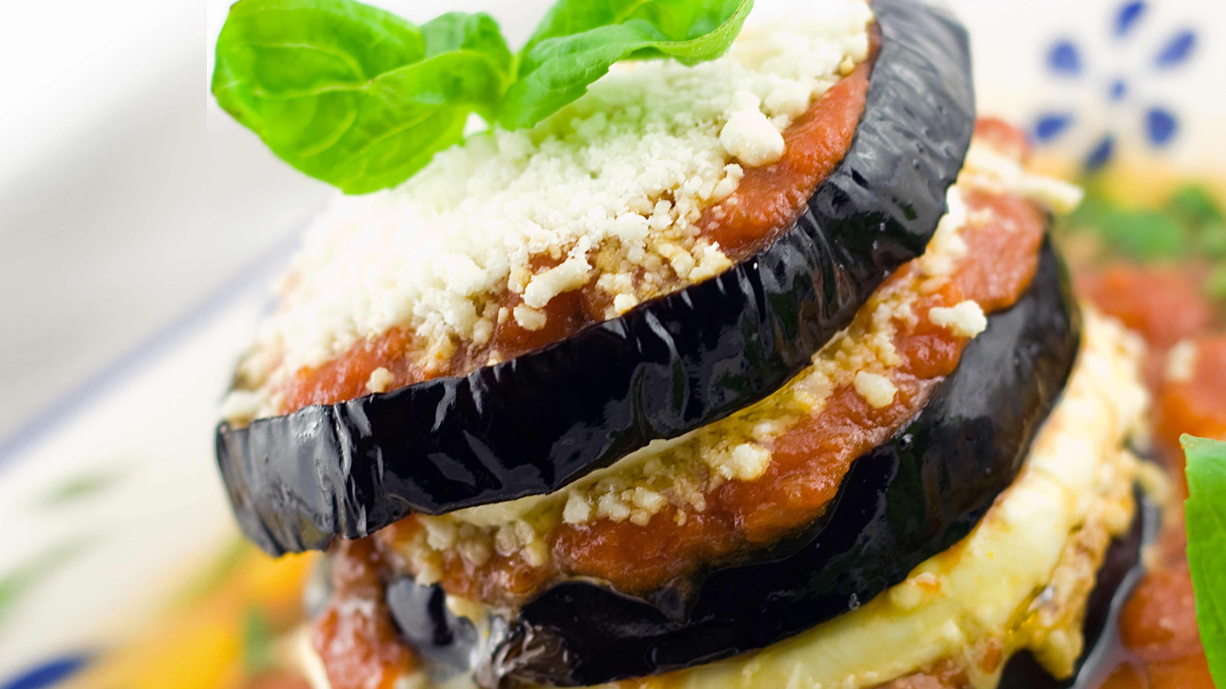 Image for Recipe Stacked Eggplant Parmigiana