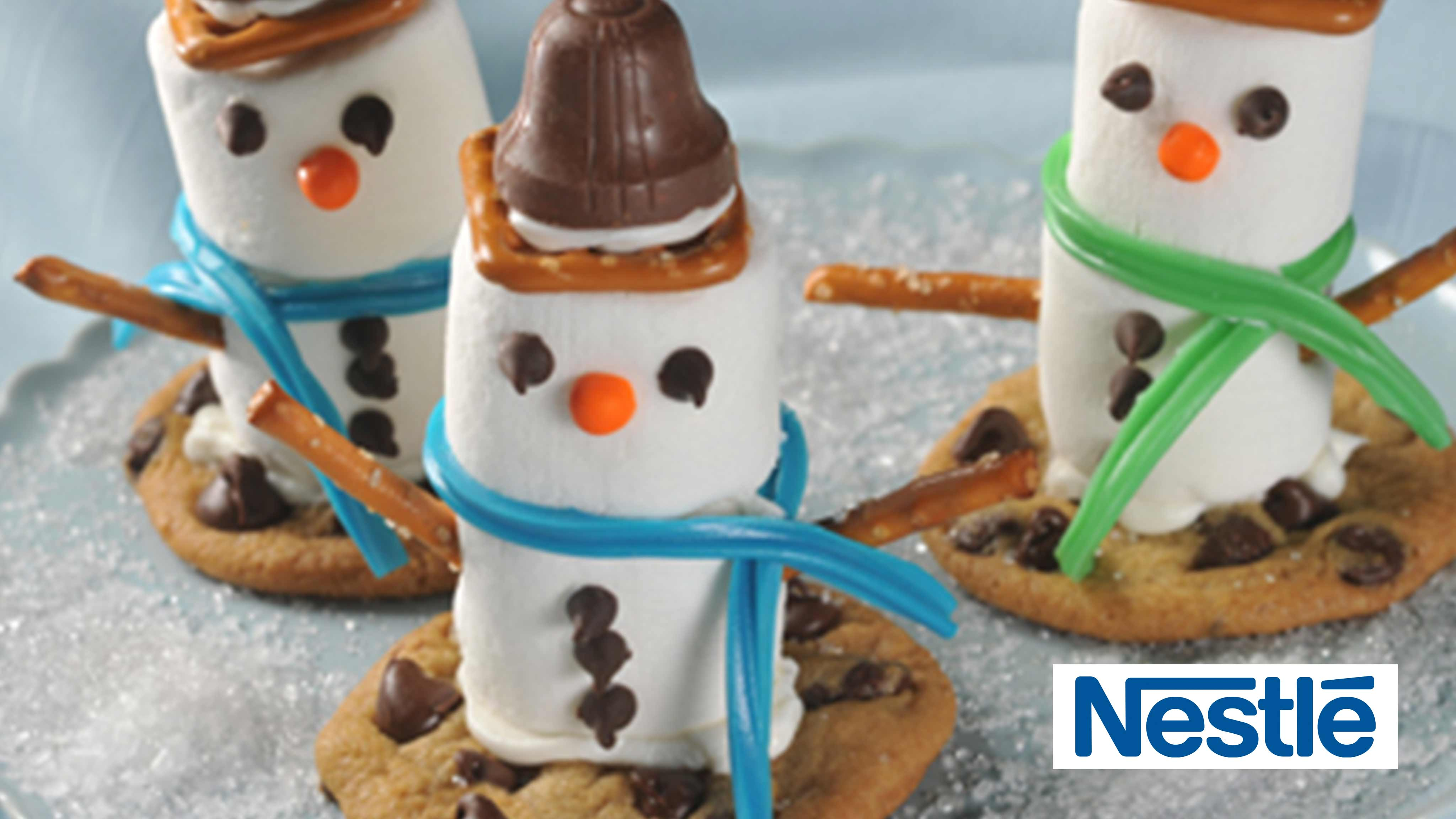Image for Recipe Marshmallow Snowmen