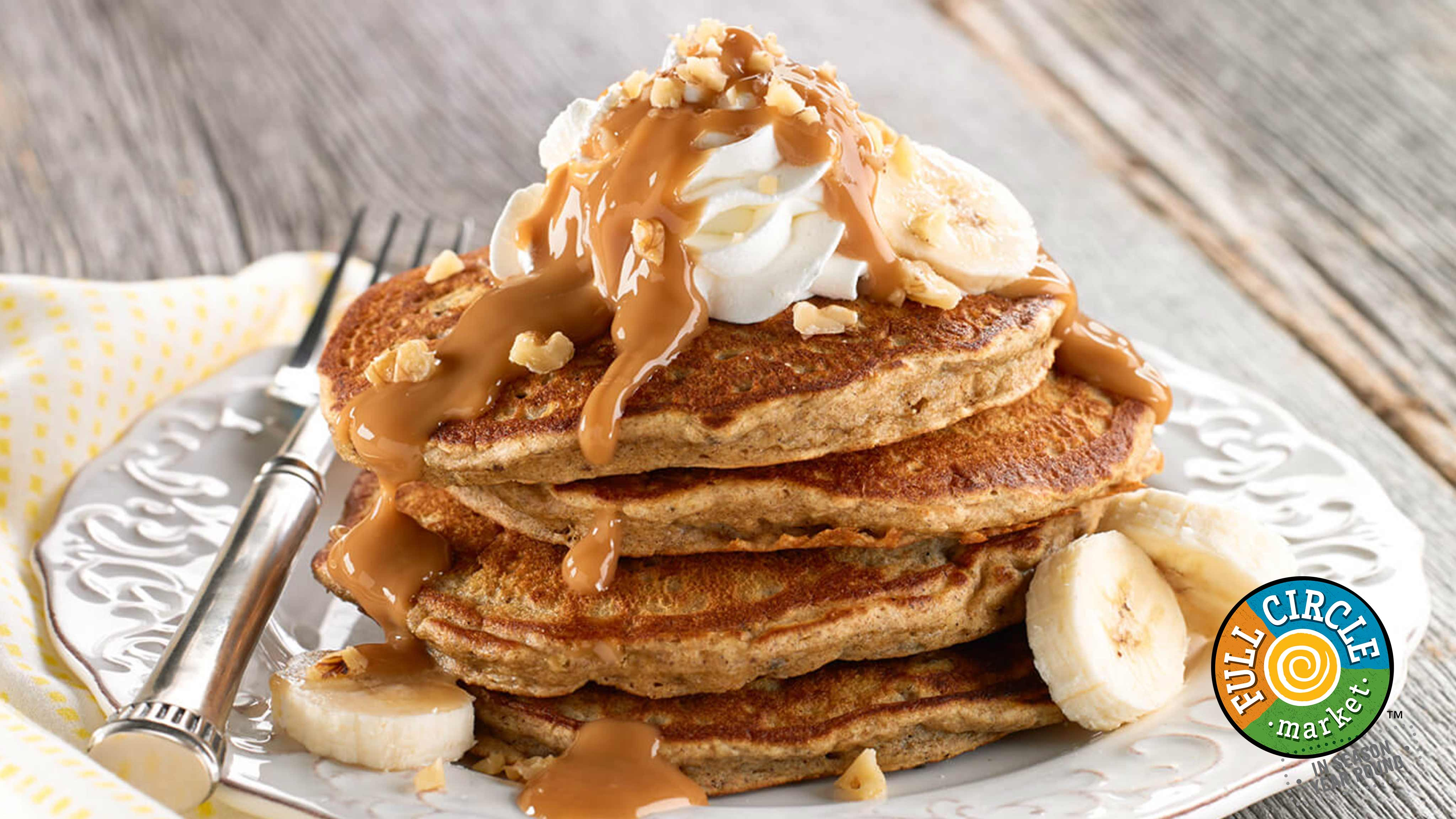 Image for Recipe Whole Wheat Banana Pancakes