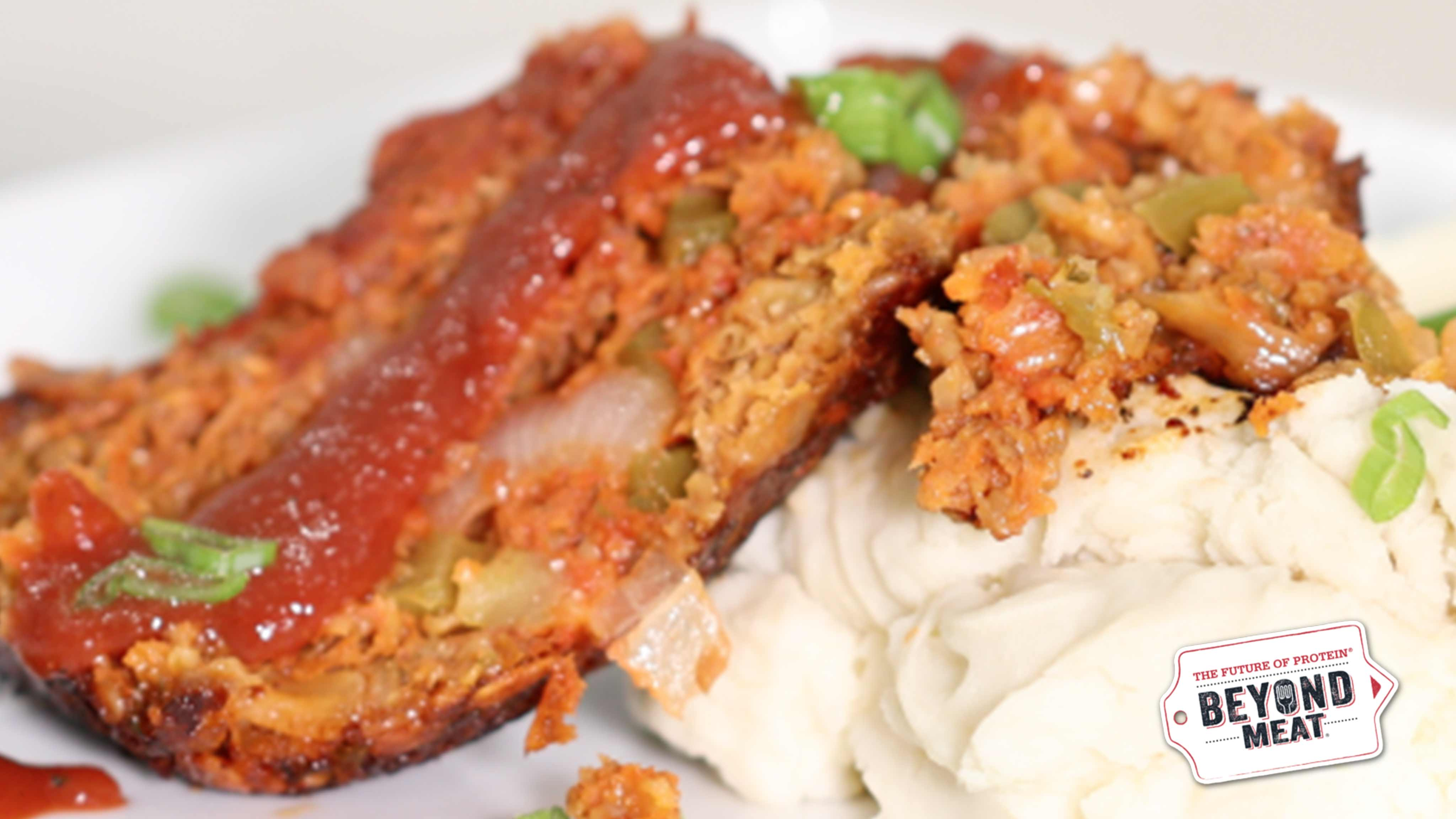 Beyond Meat BBQ Meatloaf