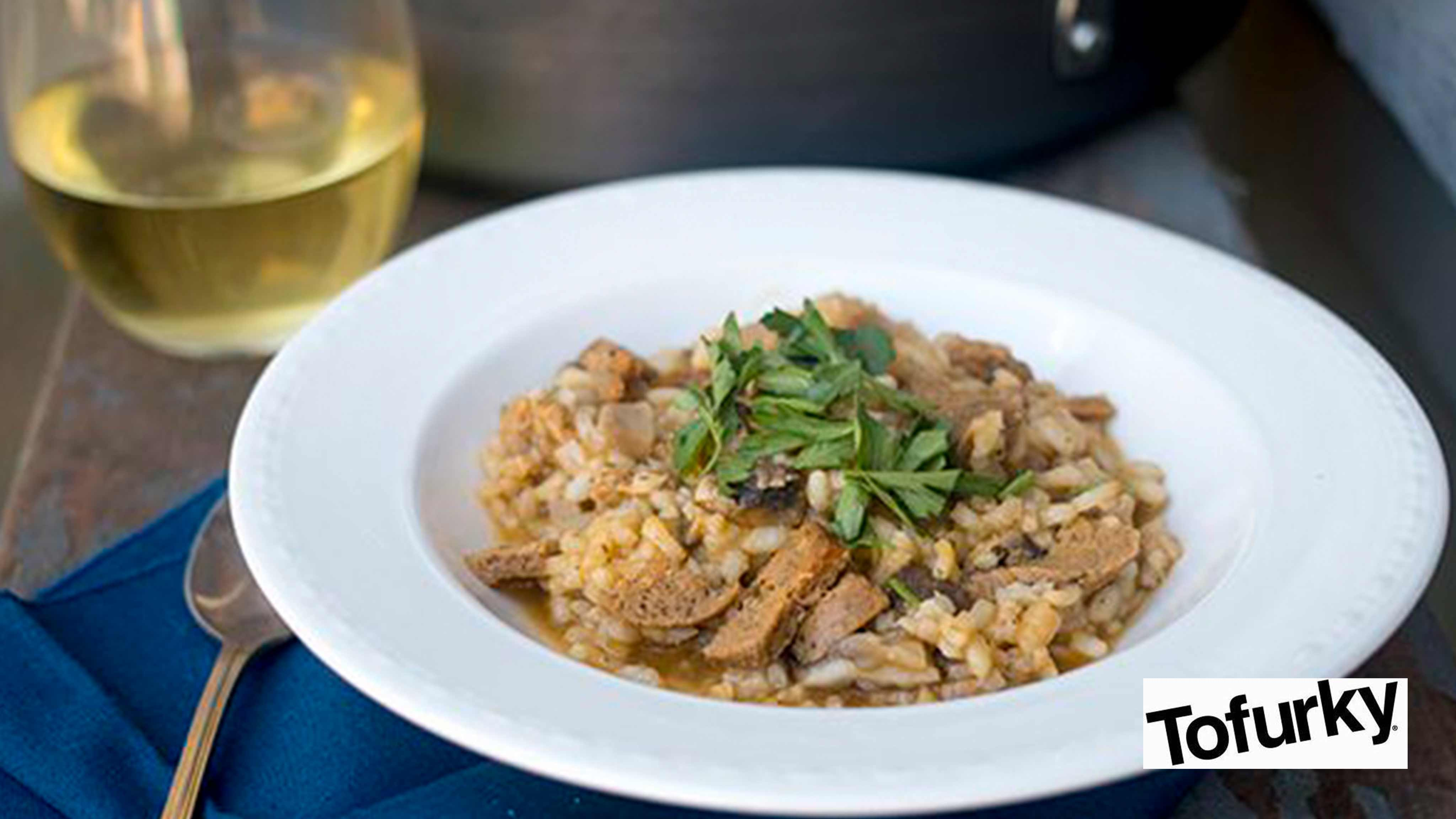 Image for Recipe Sausage and Wild Mushroom Risotto